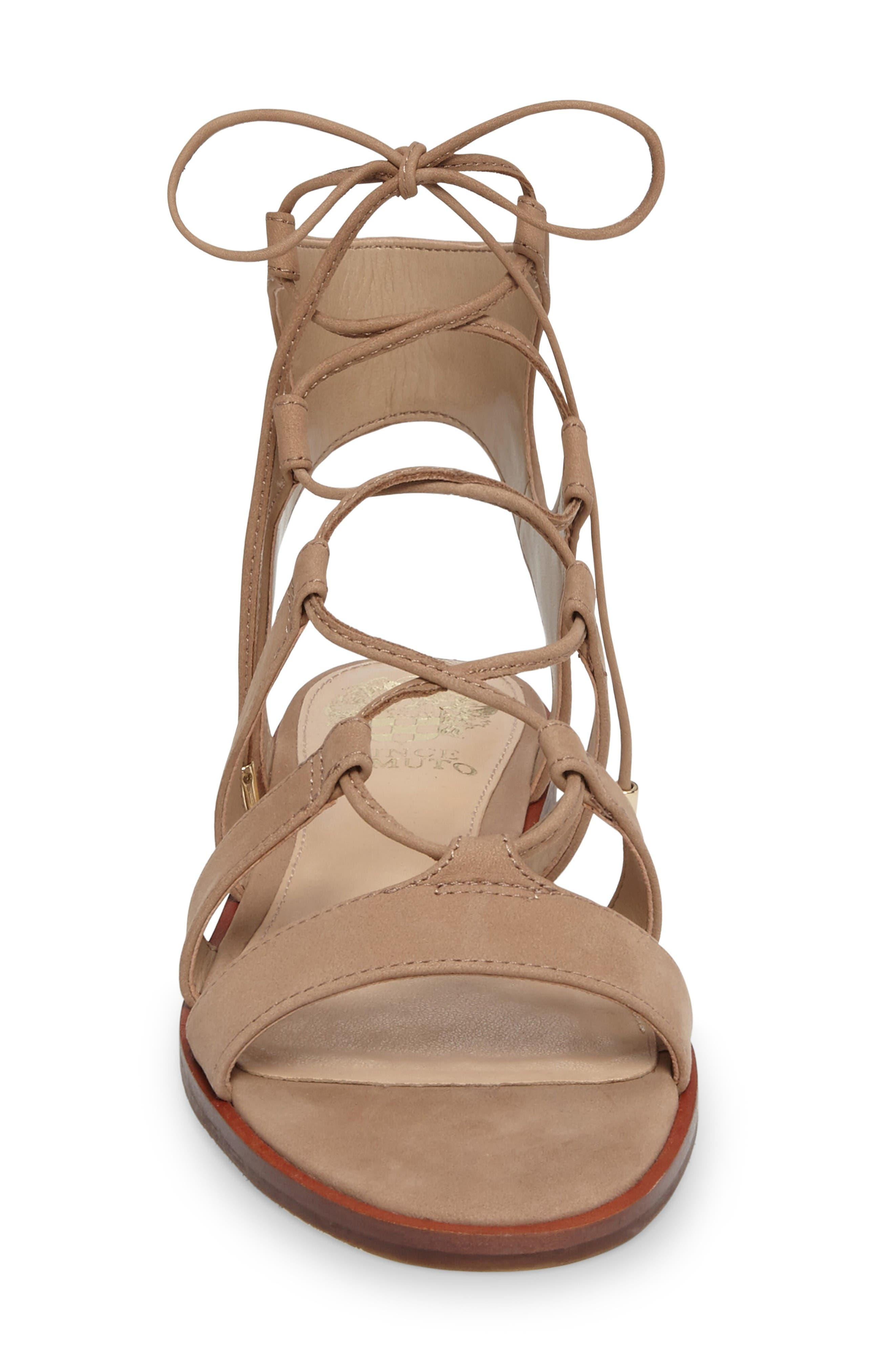 Alternate Image 3  - Vince Camuto Tany Lace-Up Sandal (Women)