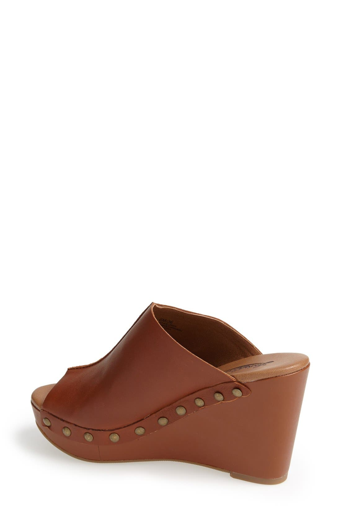 Alternate Image 2  - Lucky Brand 'Lucky Malayah' Leather Wedge Sandal (Women)
