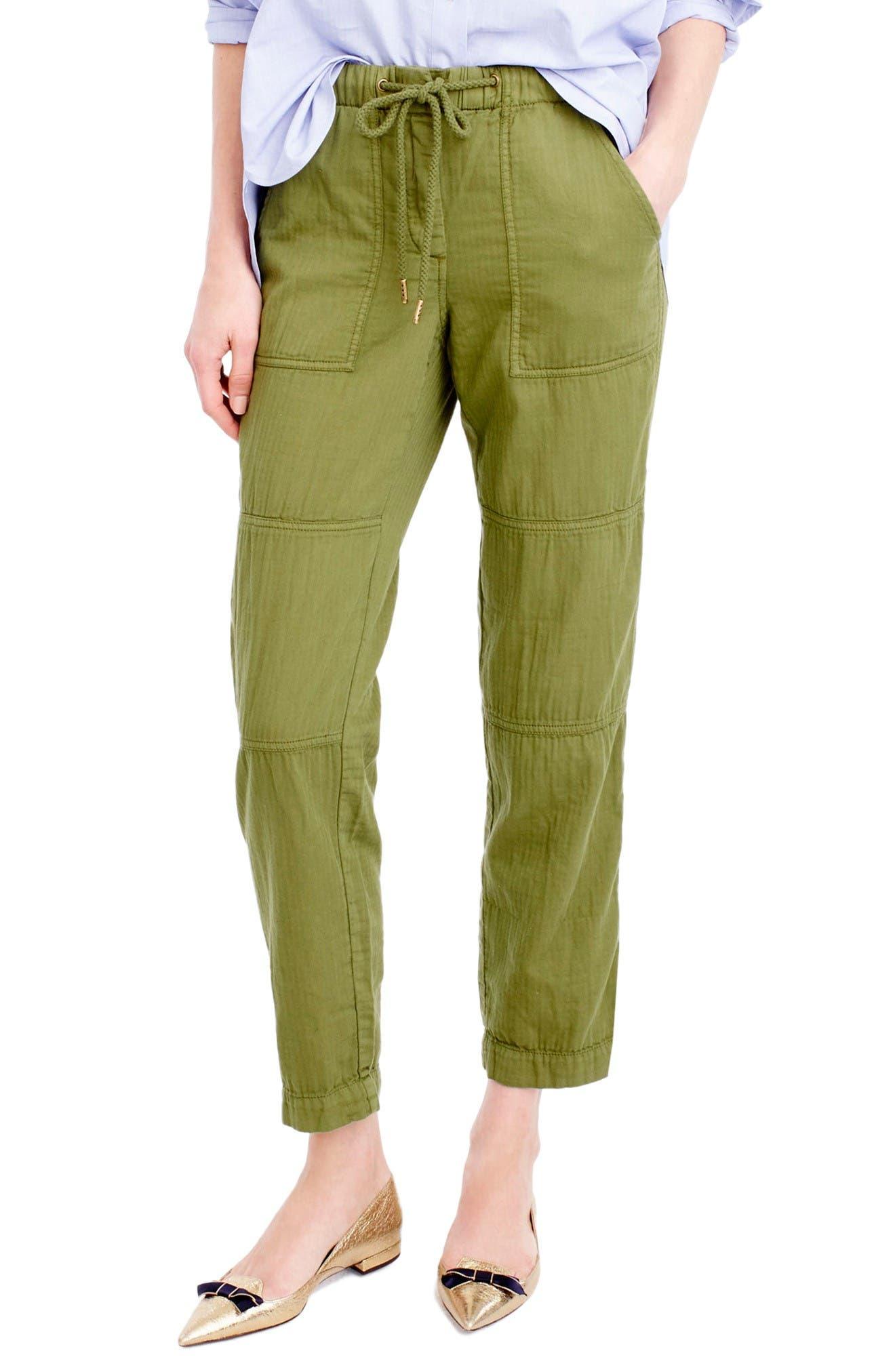 J.CREW Pull-On Cargo Pants