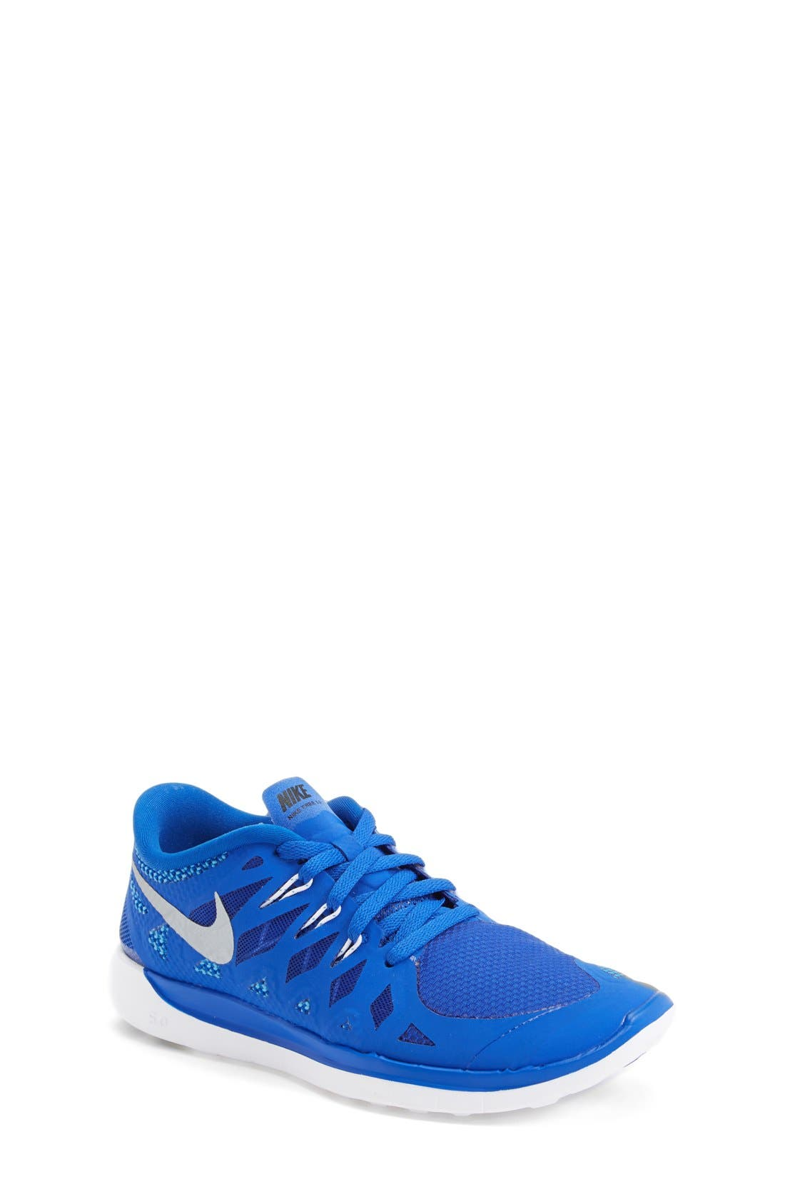 Alternate Image 1 Selected - Nike 'Free 5.0' Running Shoe (Big Kids)