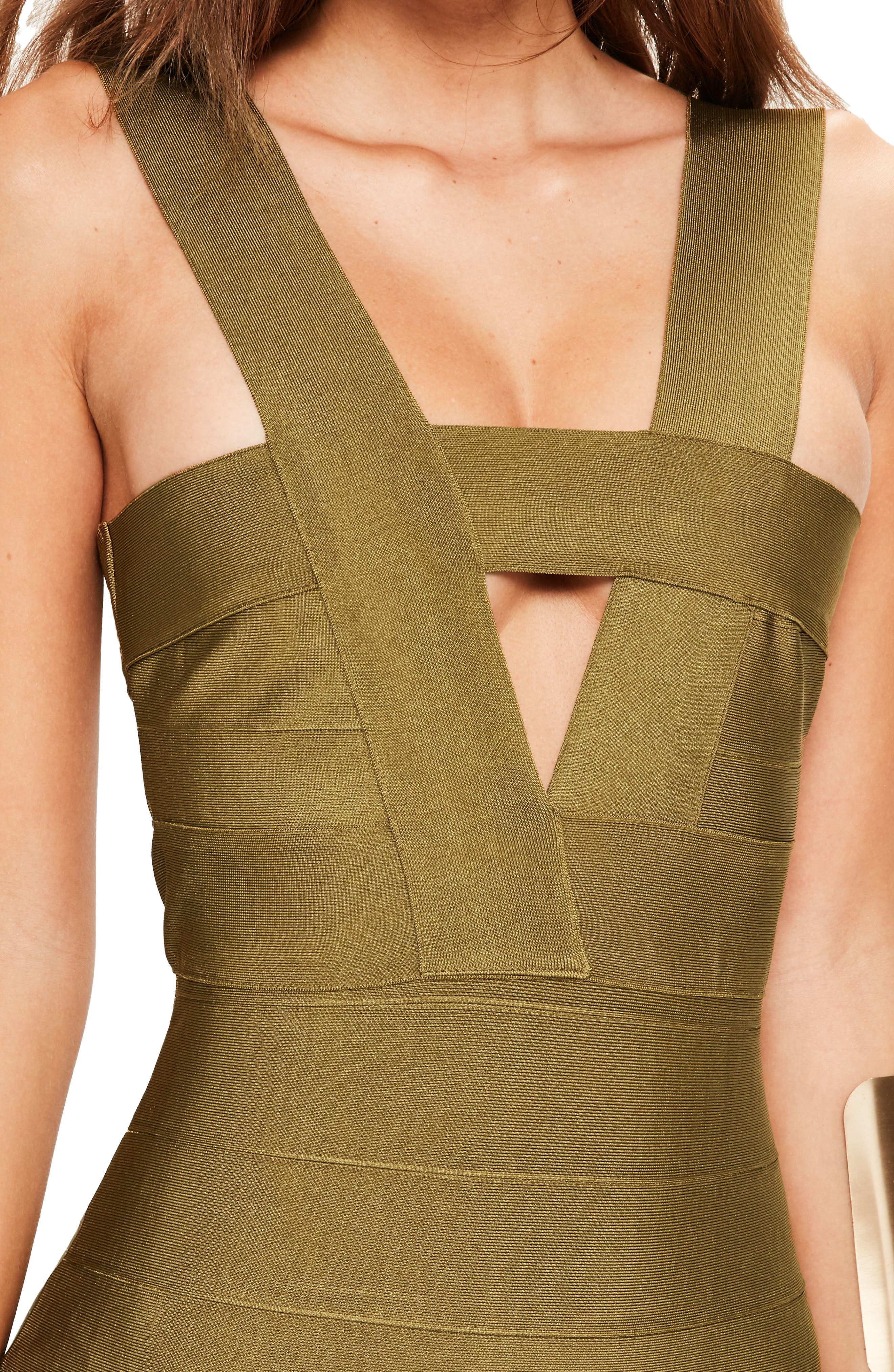 Alternate Image 4  - Missguided Bandage Minidress