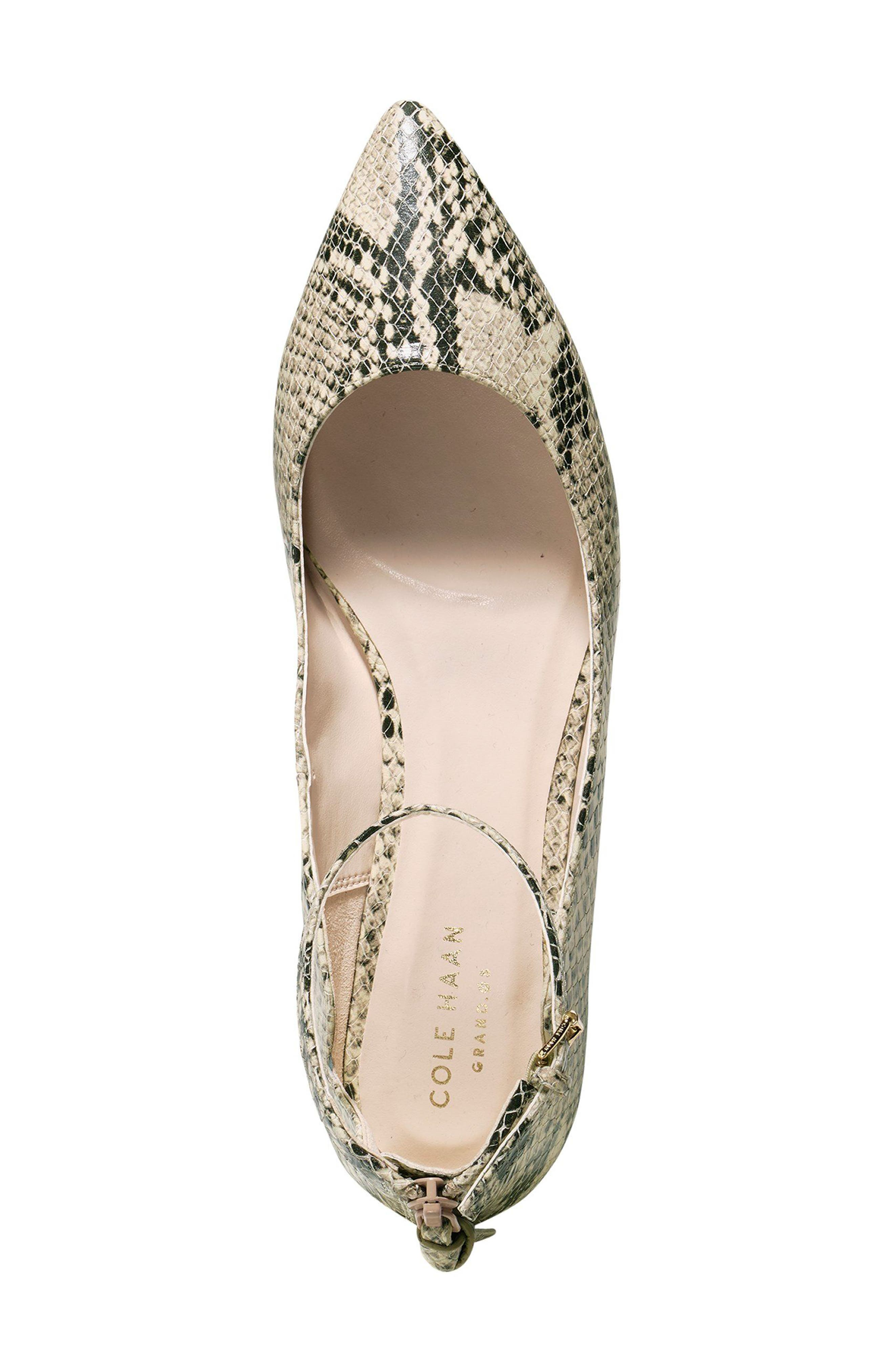 Alternate Image 3  - Cole Haan Millicent Ankle Strap Skimmer Flat (Women)