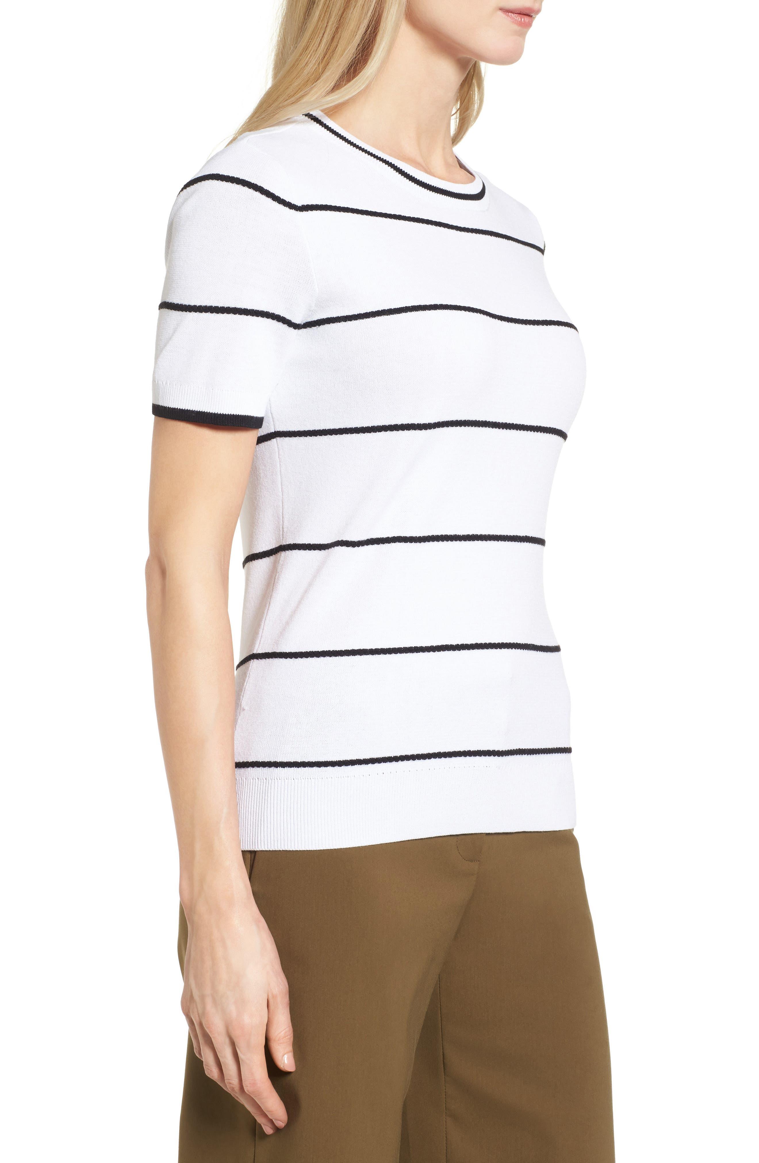 Alternate Image 5  - Halogen® Bow Back Pullover (Regular and Petite)