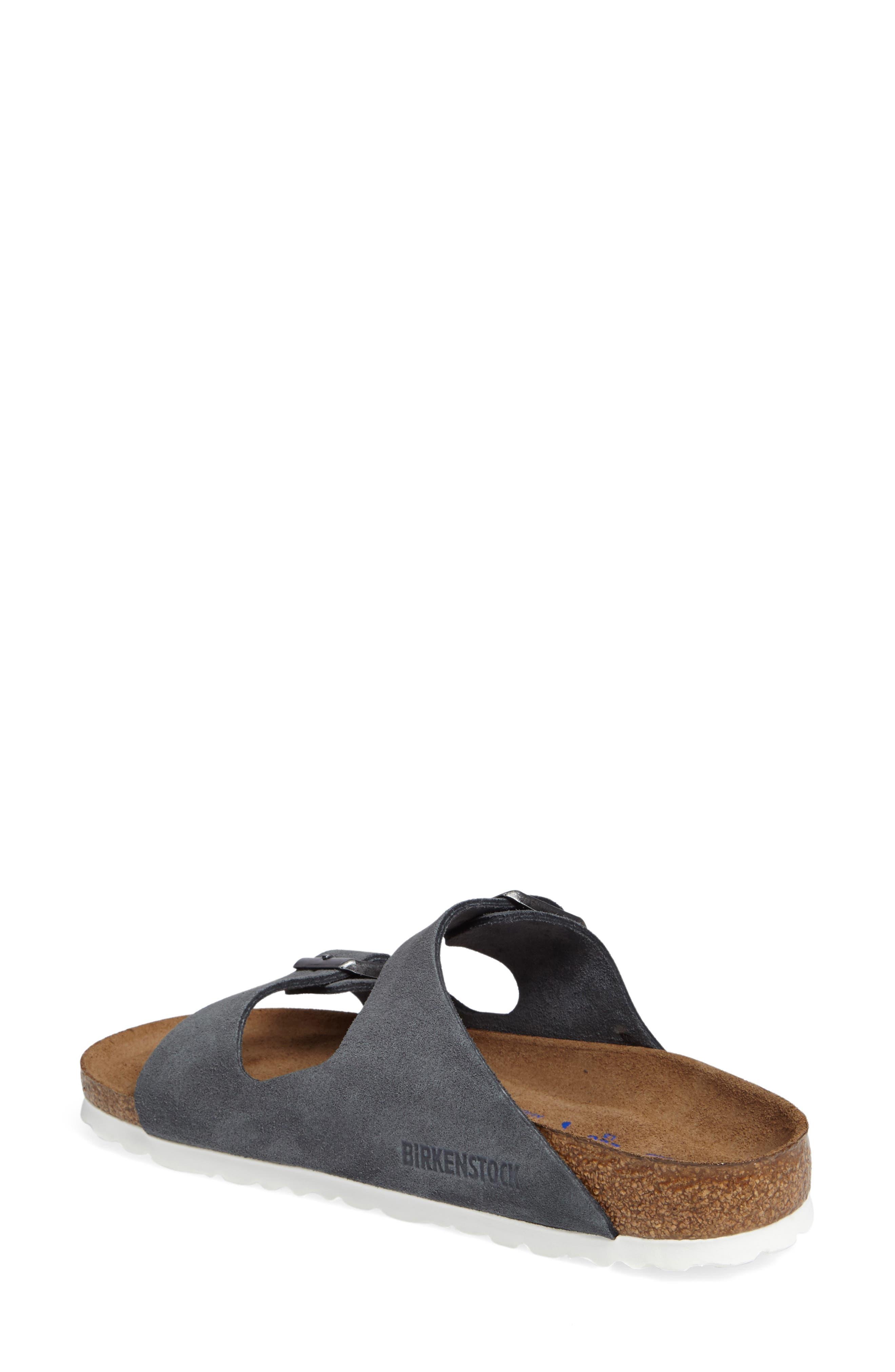 Alternate Image 2  - Birkenstock Arizona Birko-Flor Soft Footbed Slide Sandal (Women)