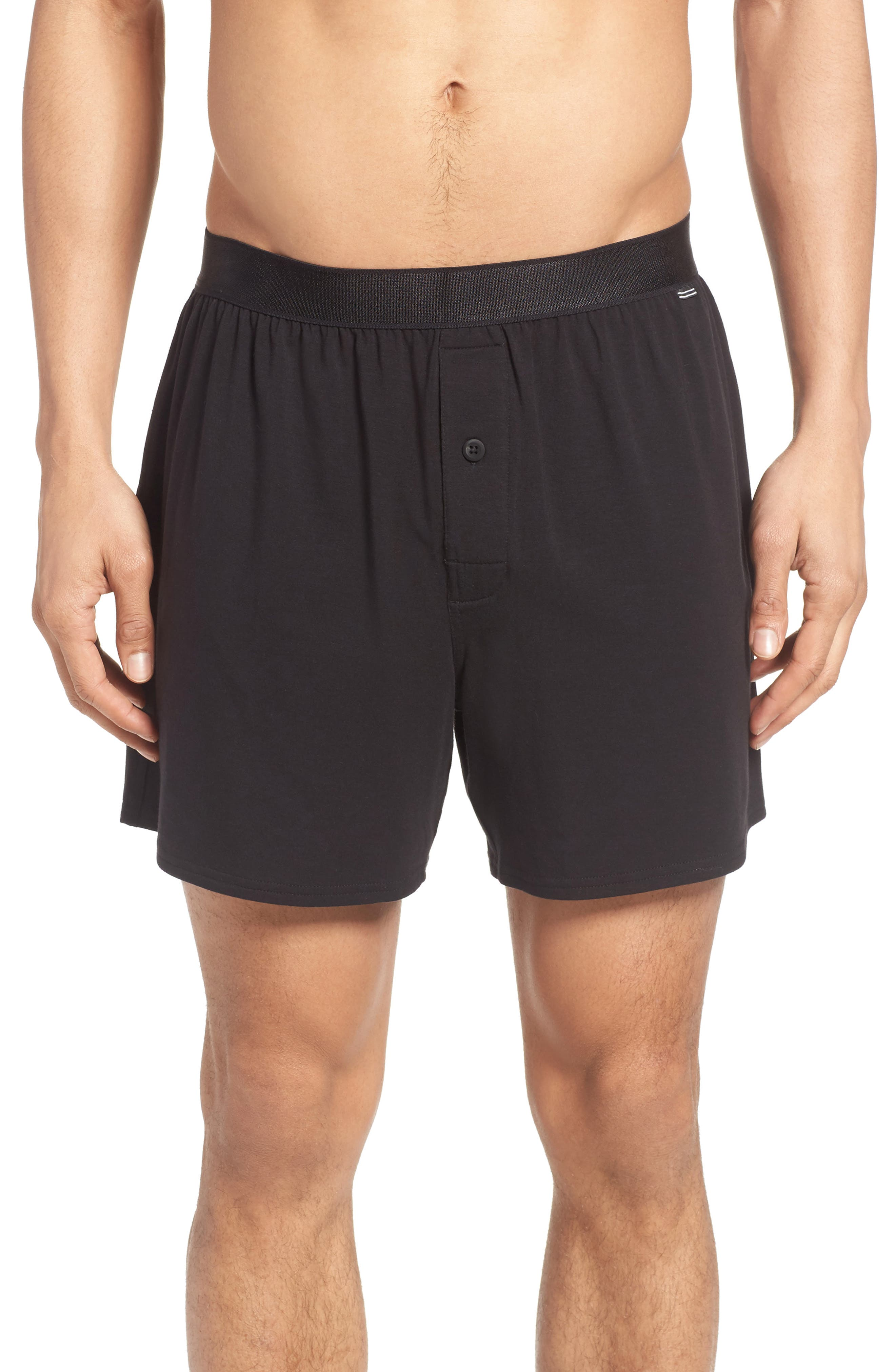 Nordstrom Men's Shop Micro Modal Blend Knit Boxers