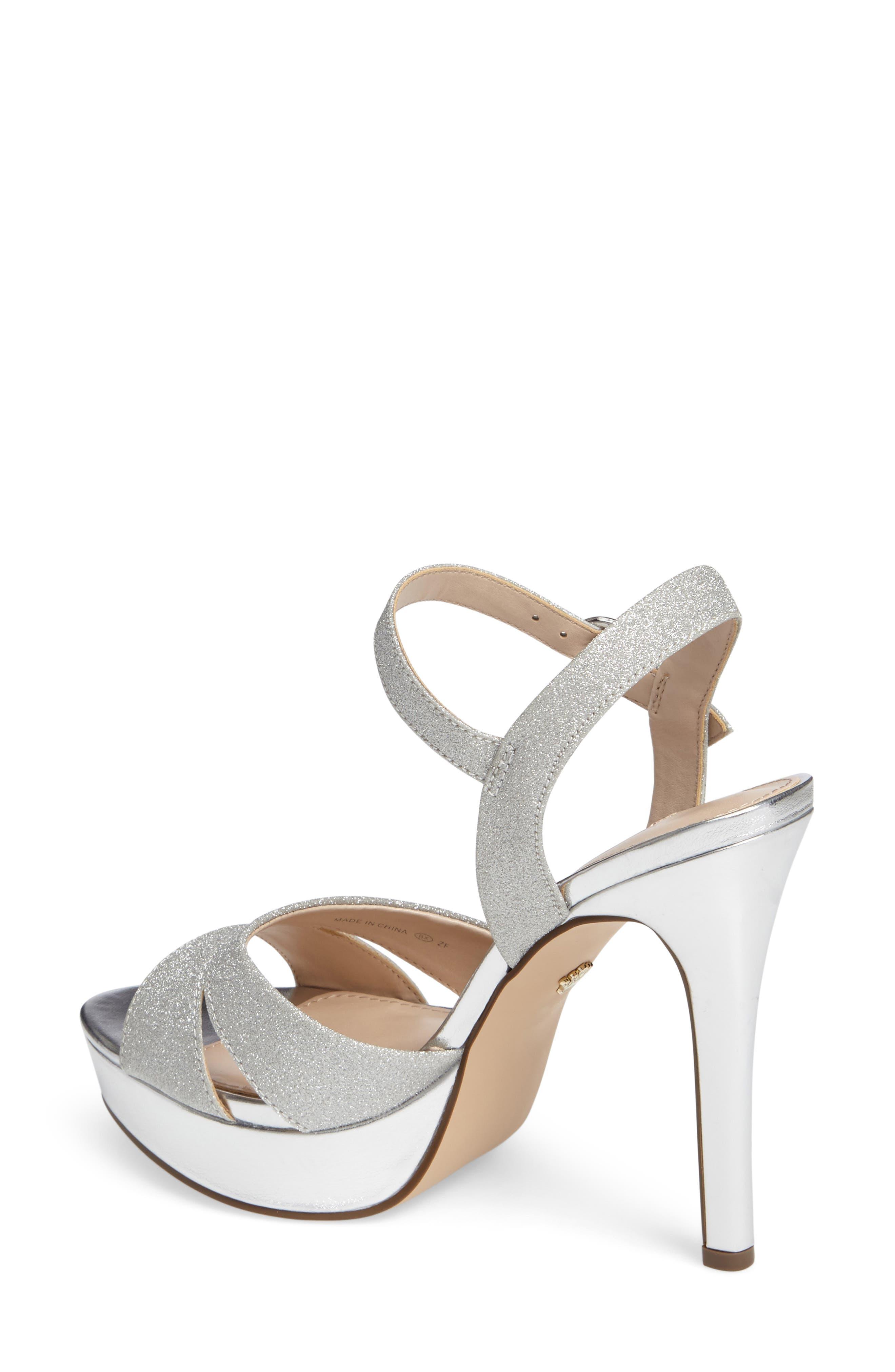 Alternate Image 2  - Nina Shara Shimmery Platform Sandal (Women)