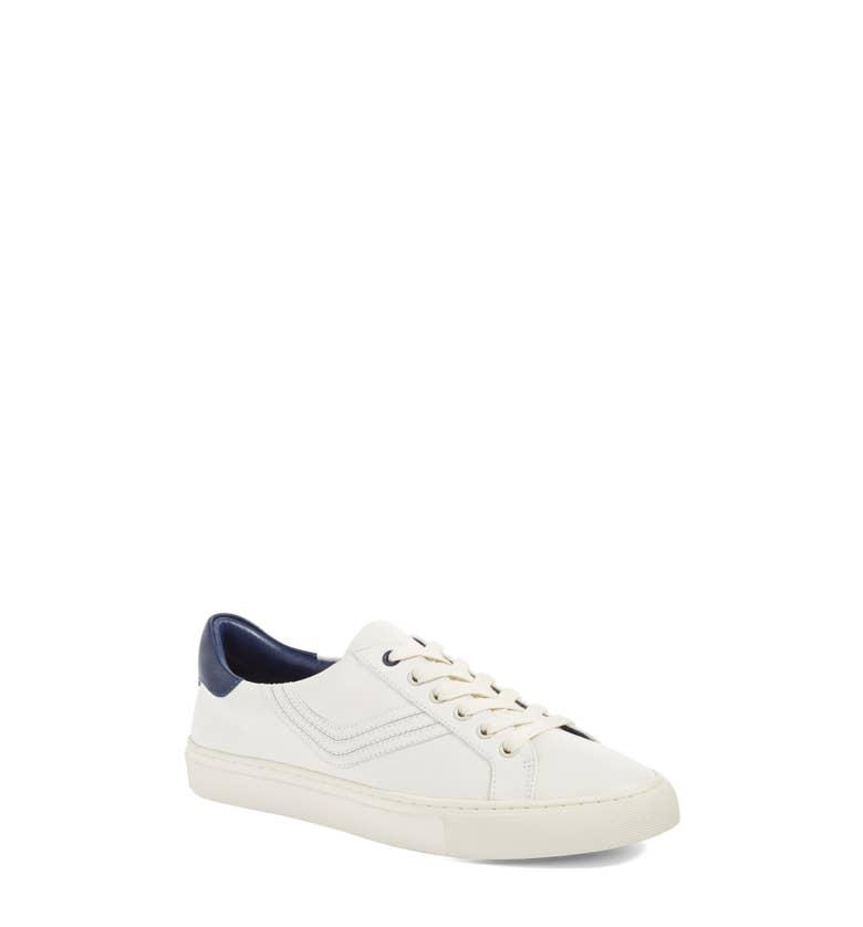 Tory Burch Chevron Low-Top Sneakers
