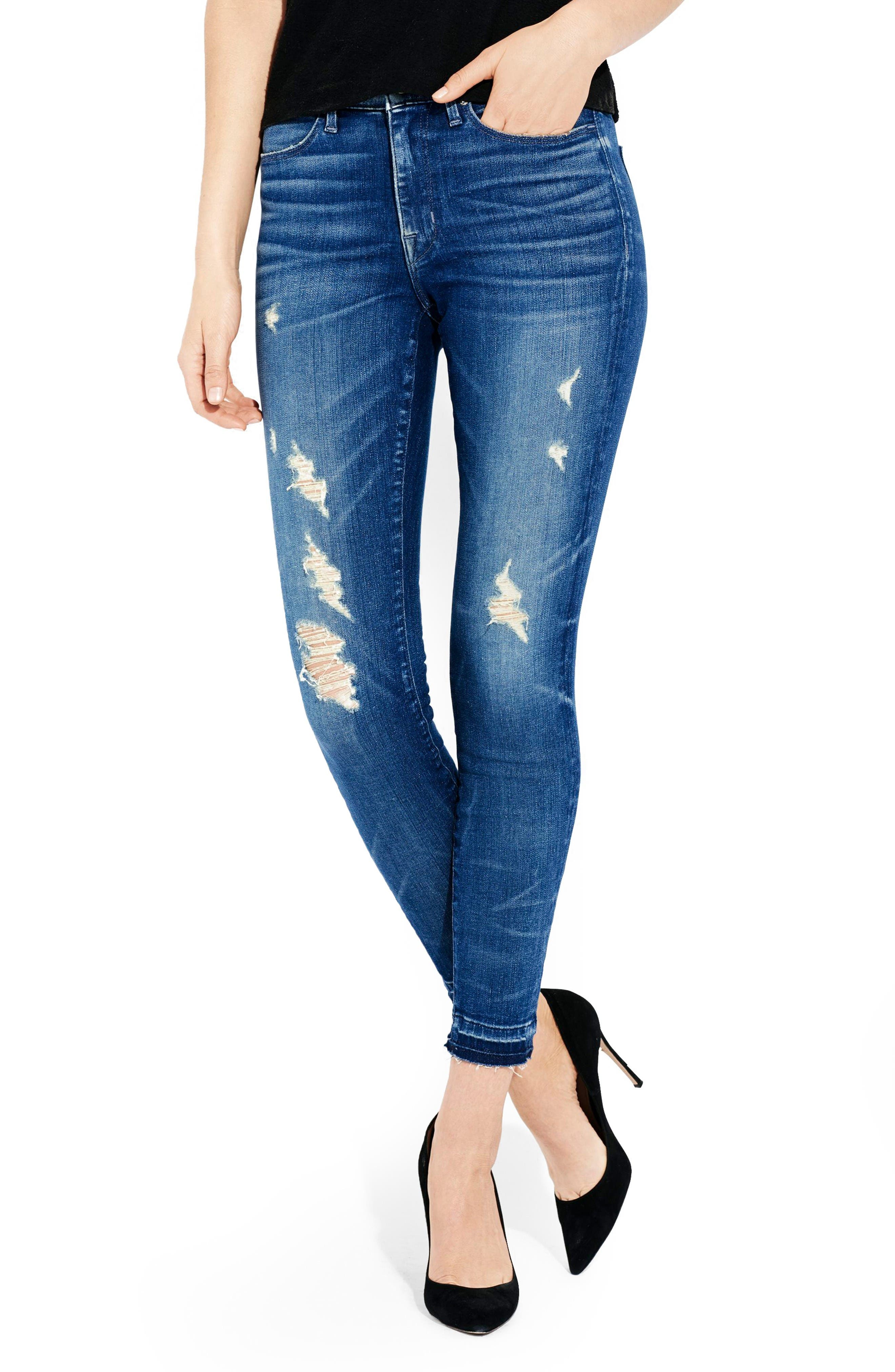 AYR The Skinny Distressed Skinny Jeans (Fools Gold)