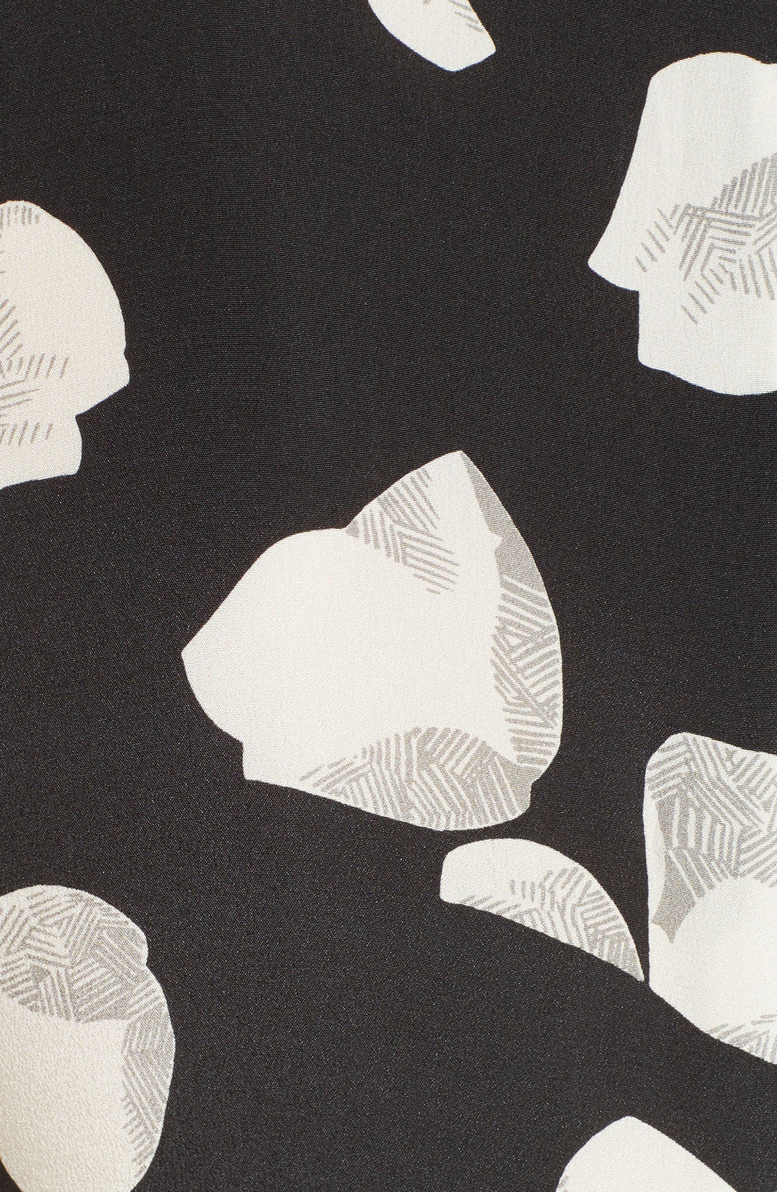 Alternate Image 5  - Theory Nophella B Harper Print Silk Dress