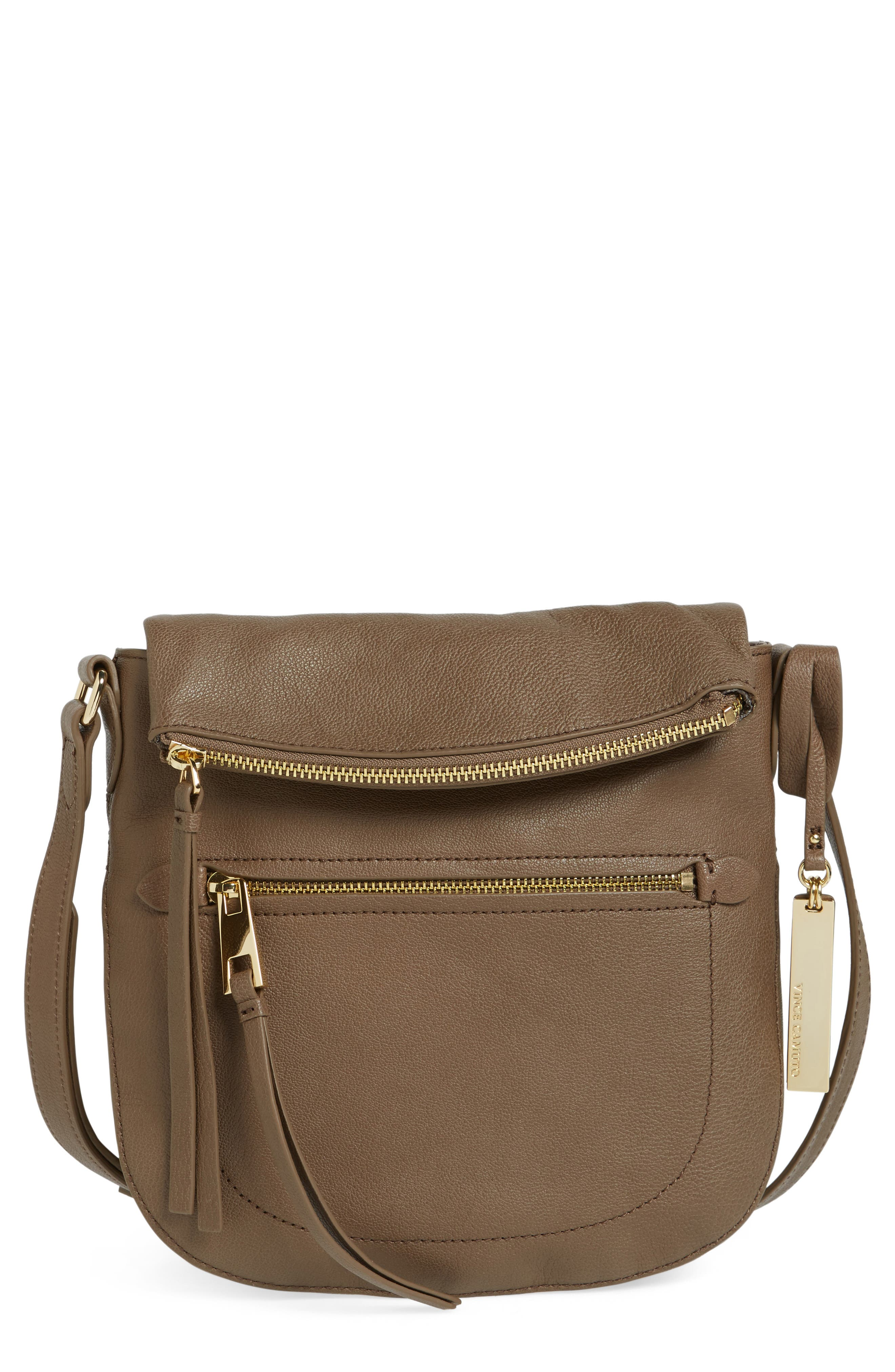 Alternate Image 1 Selected - Vince Camuto 'Tala' Leather Crossbody Bag (Nordstrom Exclusive)