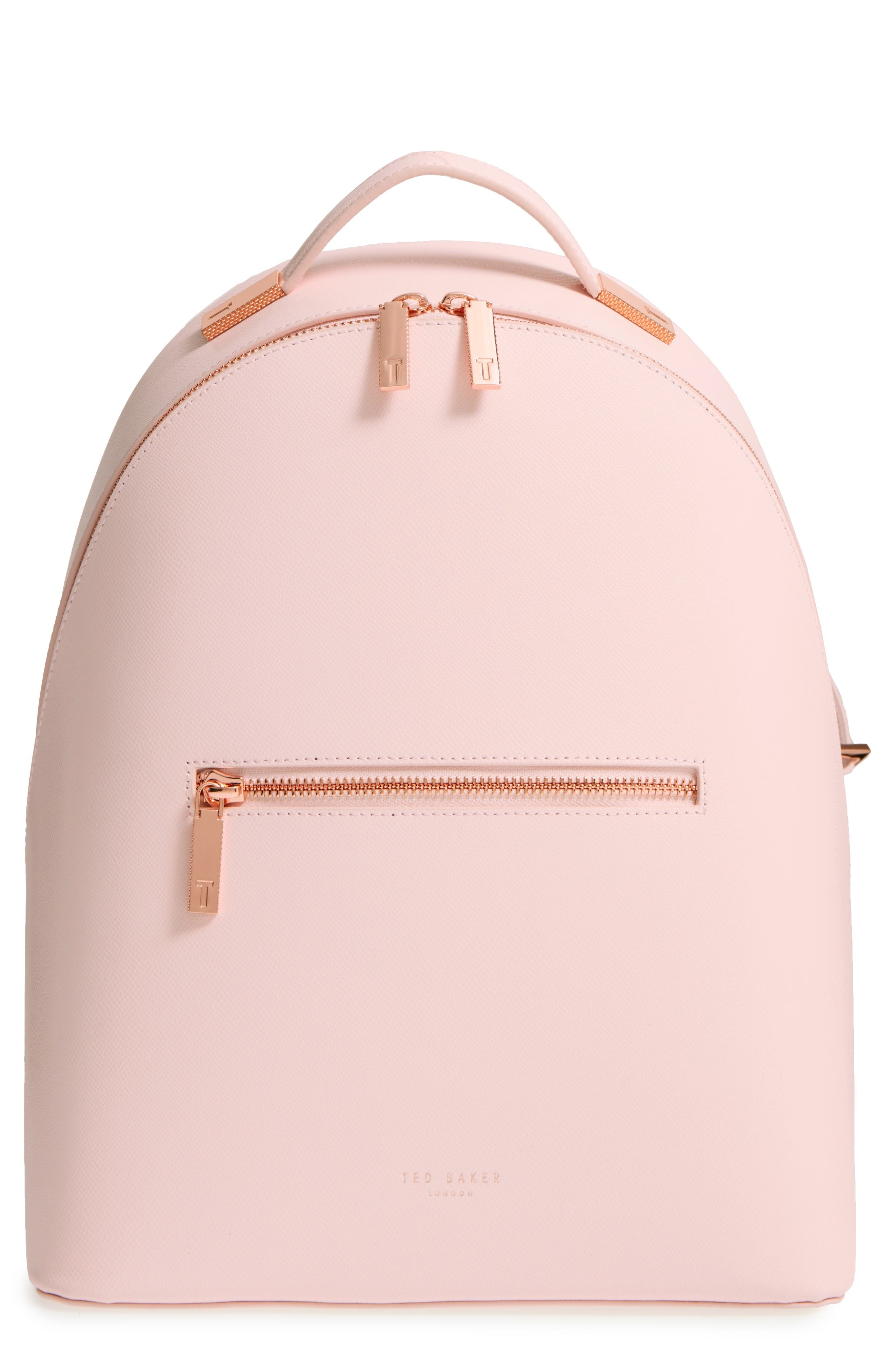 Main Image - Ted Baker London Mini Jarvis Leather Backpack