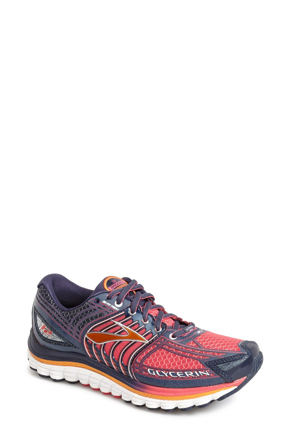 Alternate Image 1 Selected - Brooks 'Glycerin 12' Running Shoe (Women)
