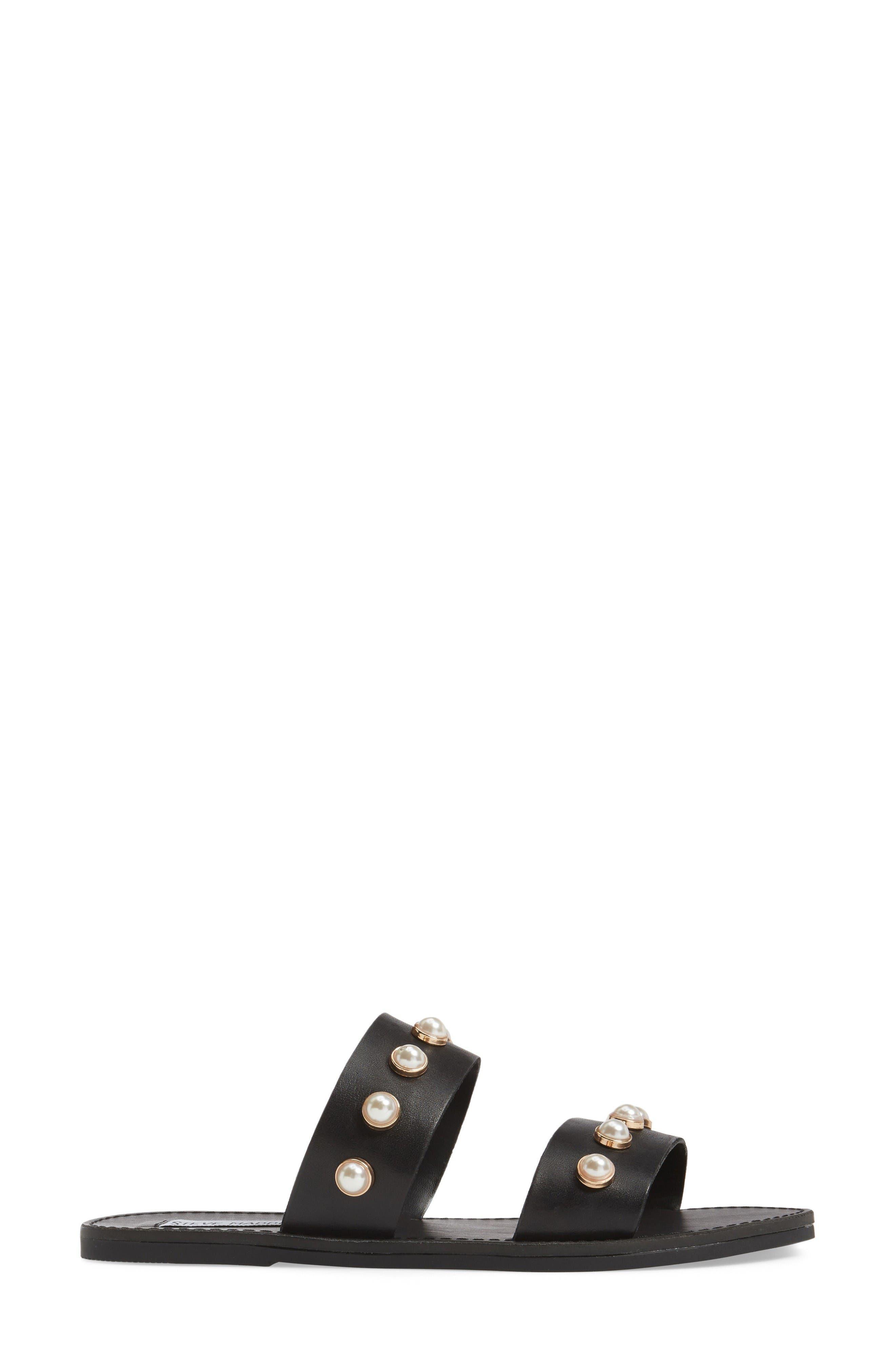 Alternate Image 3  - Steve Madden Jole Embellished Slide Sandal (Women)