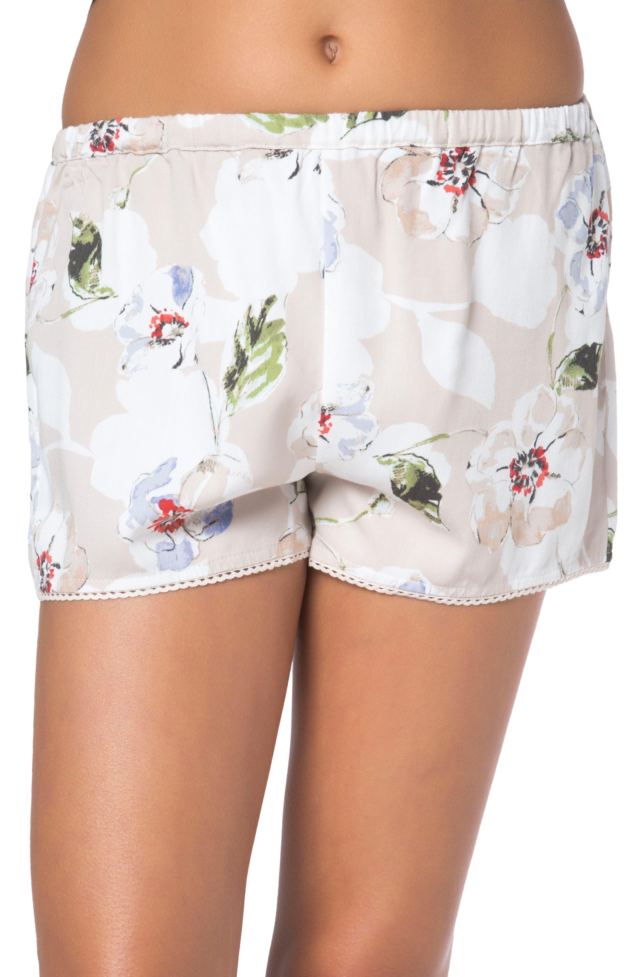 O'Neill Poem Floral Shorts (Big Girls)