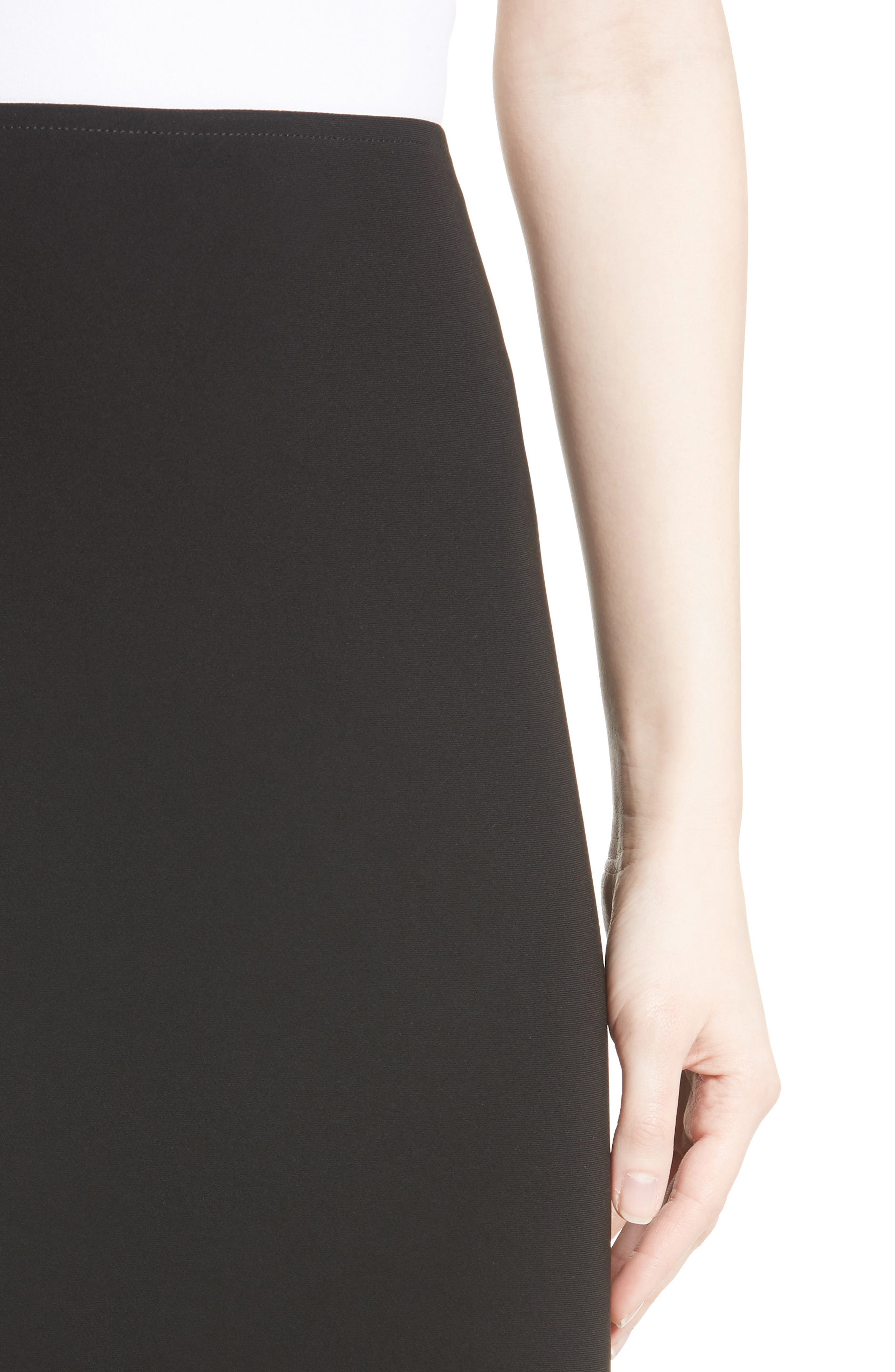 Alternate Image 6  - St. John Collection Crepe Marocain Pencil Skirt