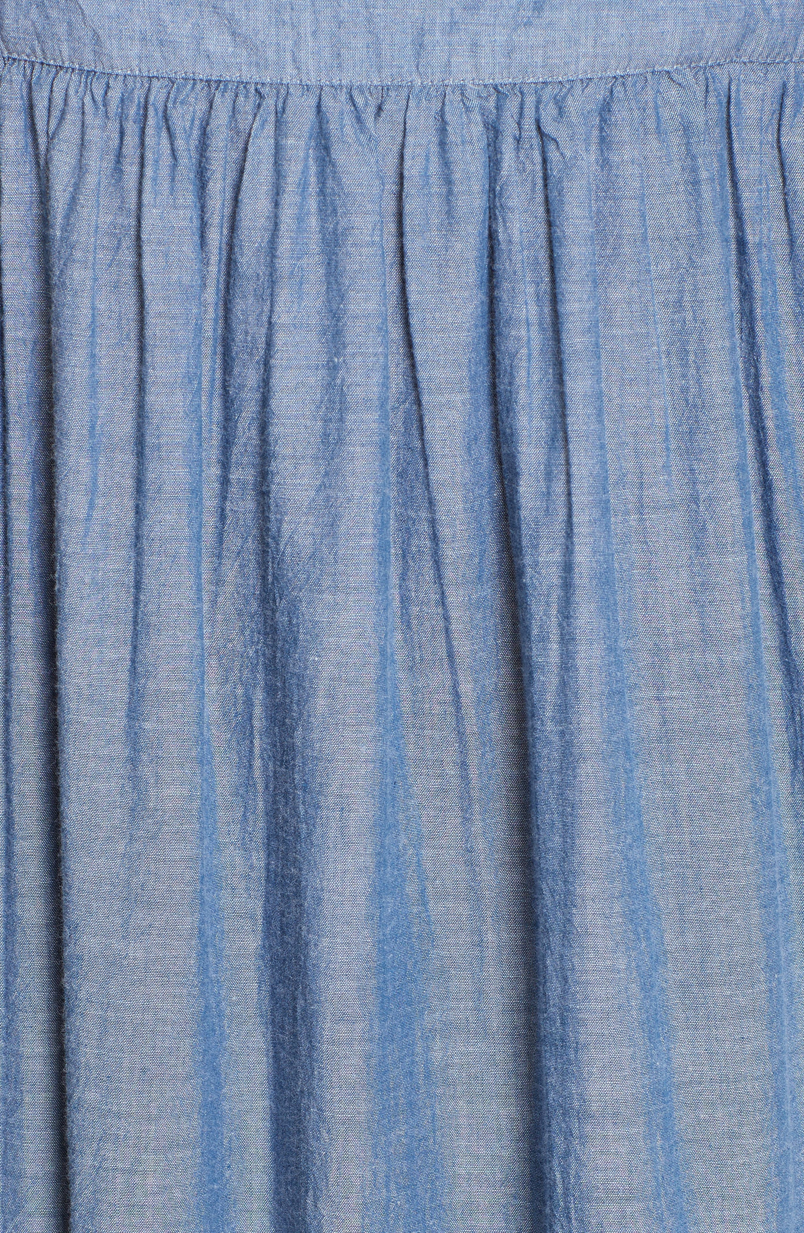 Alternate Image 5  - Apiece Apart Tangiers Chambray Dress