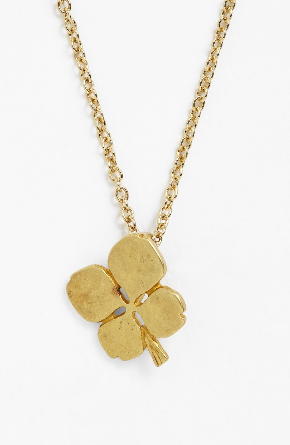 Alternate Image 3  - Dogeared 'Luck' Clover Pendant Necklace