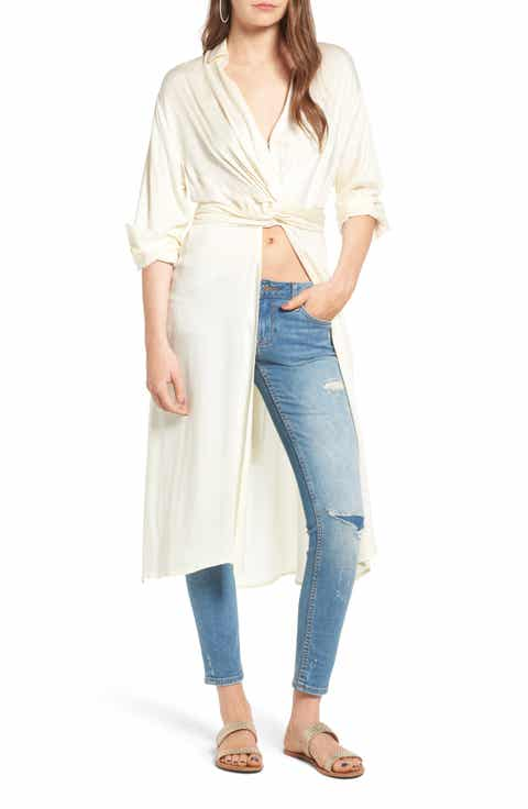 Lira Clothing Onyx Wrap Top