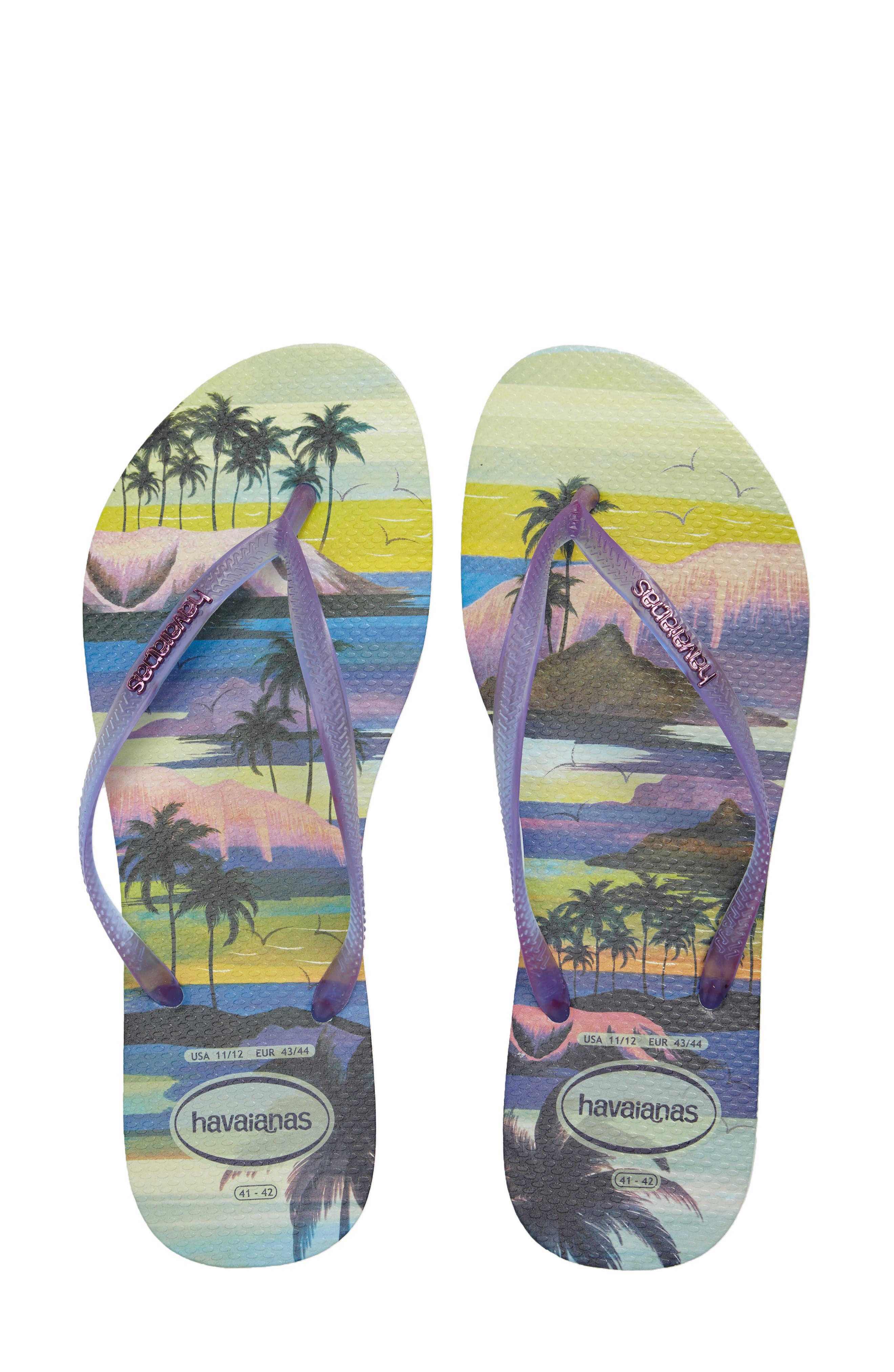 Havaianas 'Slim Paisage' Flip Flop (Women)