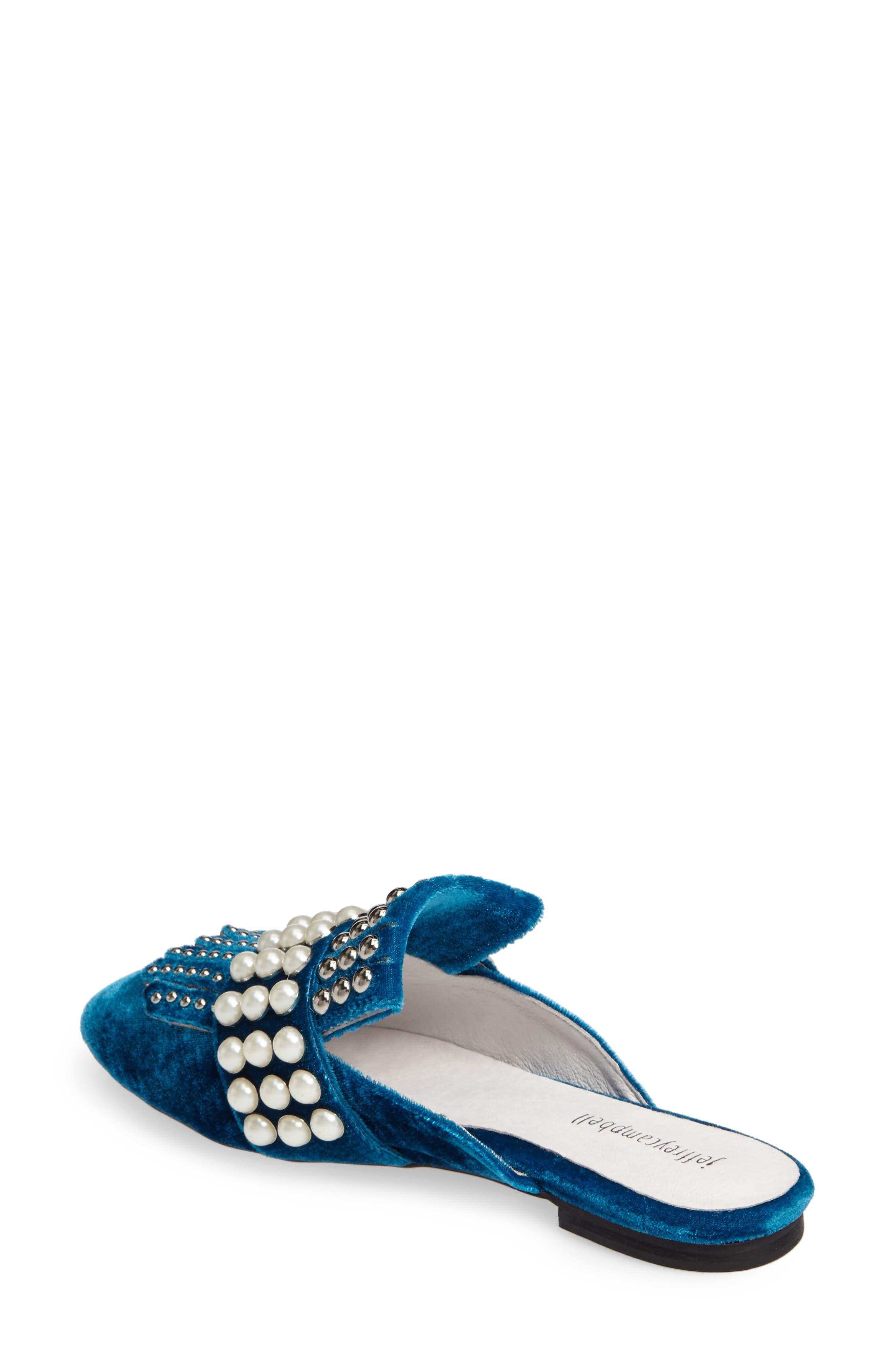 Alternate Image 2  - Jeffrey Campbell Ravis Embellished Loafer Mule (Women)