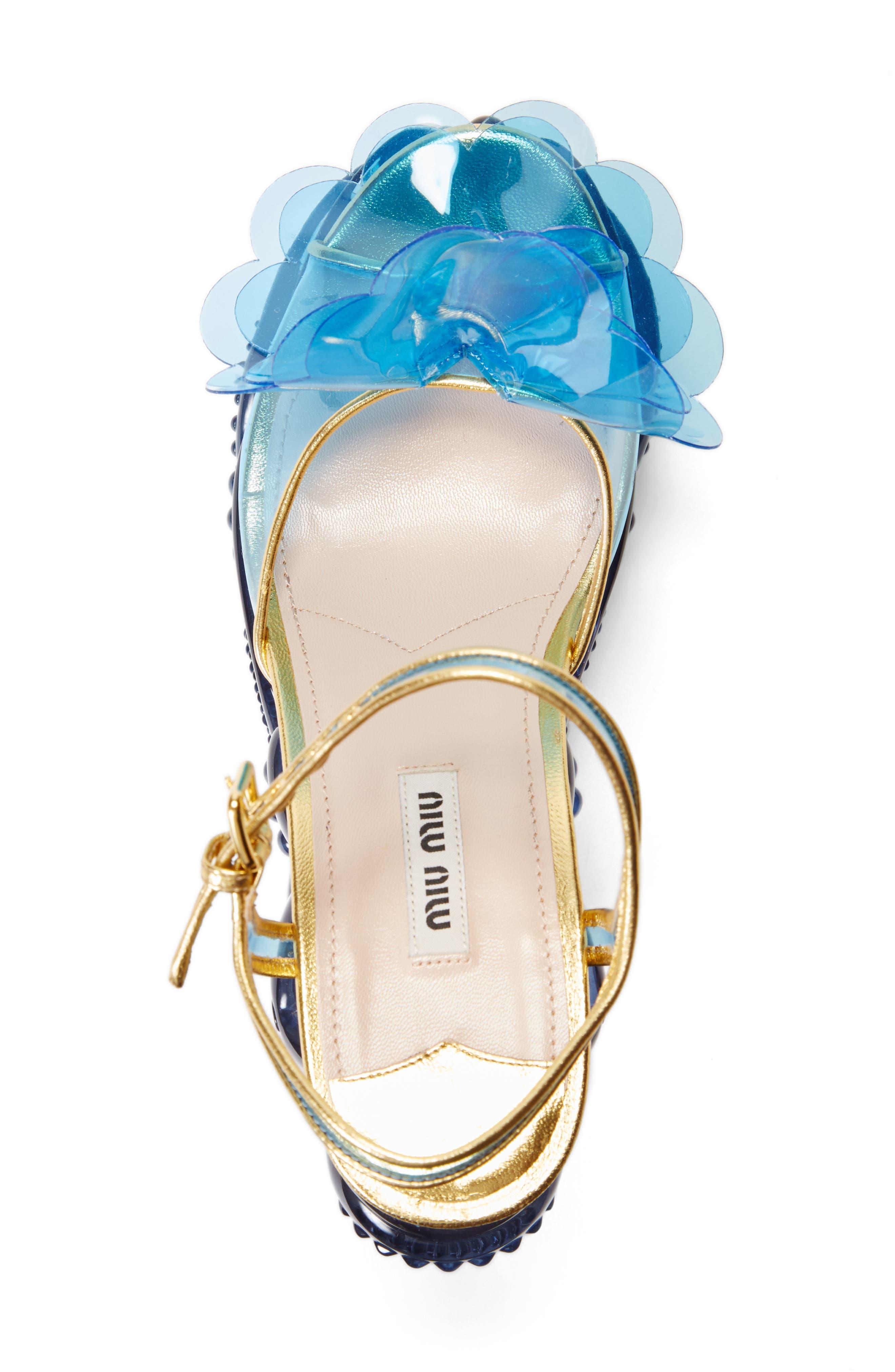 Alternate Image 3  - Miu Miu Wedge Sandal (Women)
