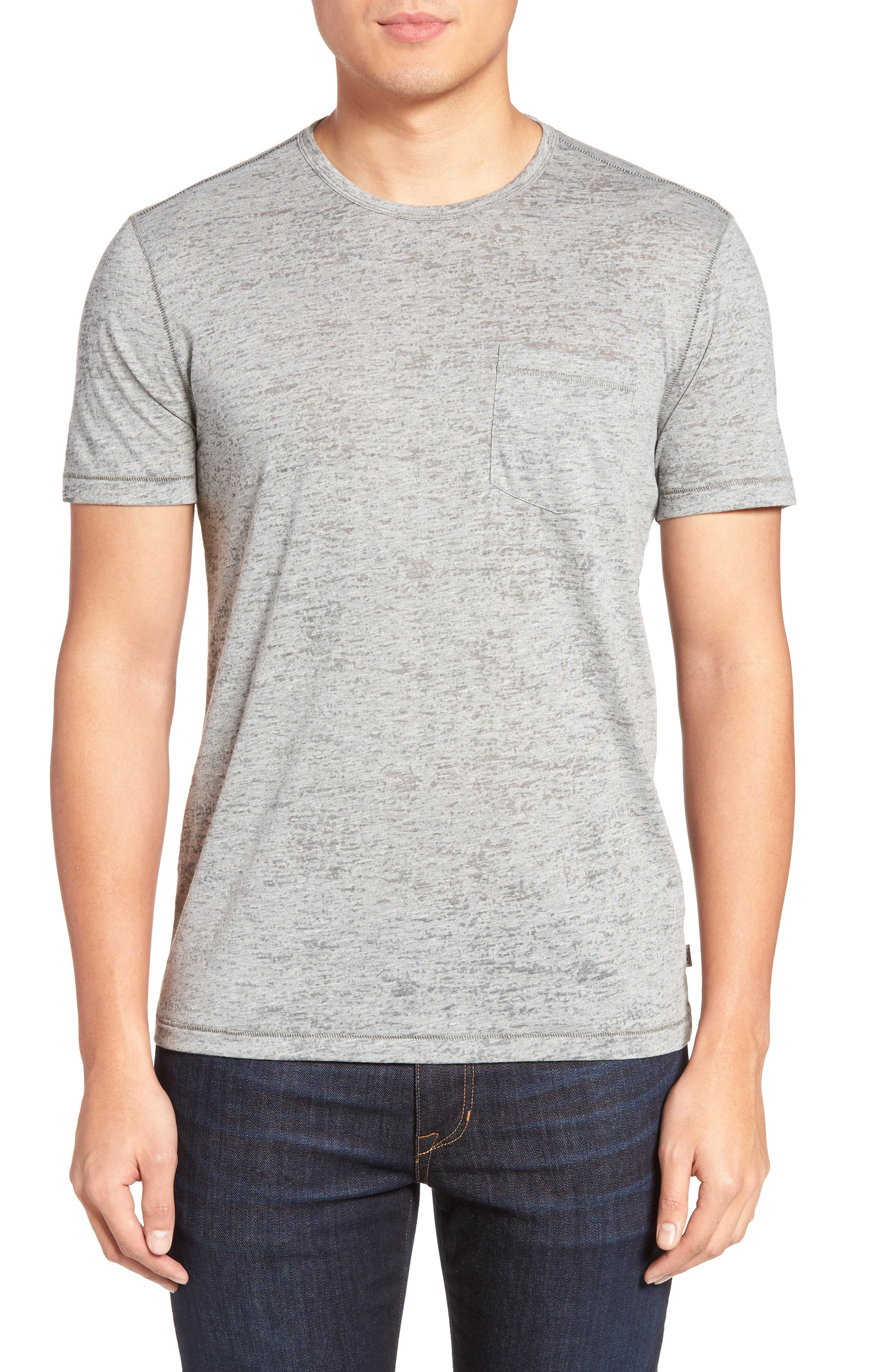 John Varvatos Star USA Burnout Trim Fit T-Shirt
