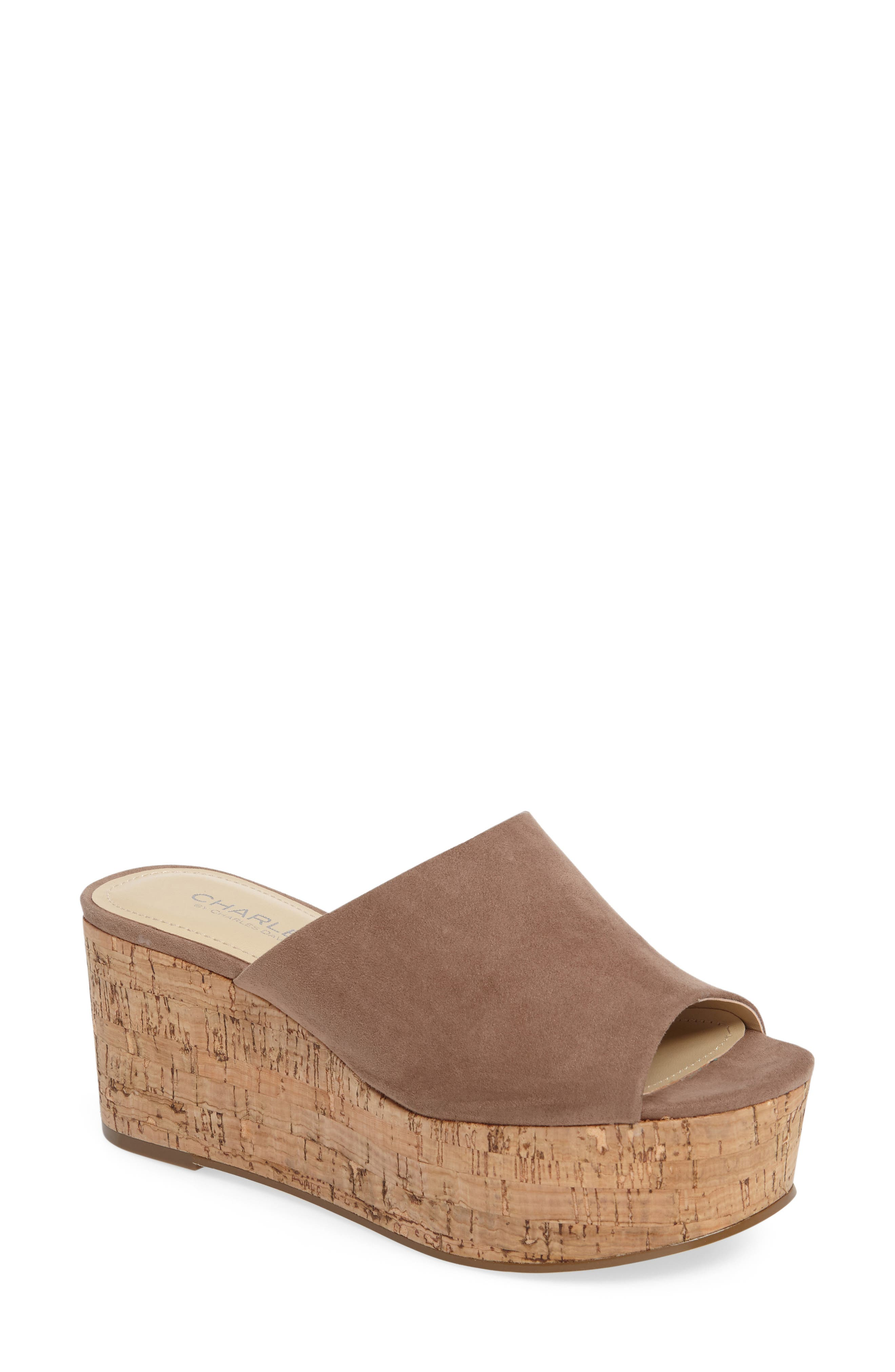Charles by Charles David Crisp Platform Wedge Sandal (Women)