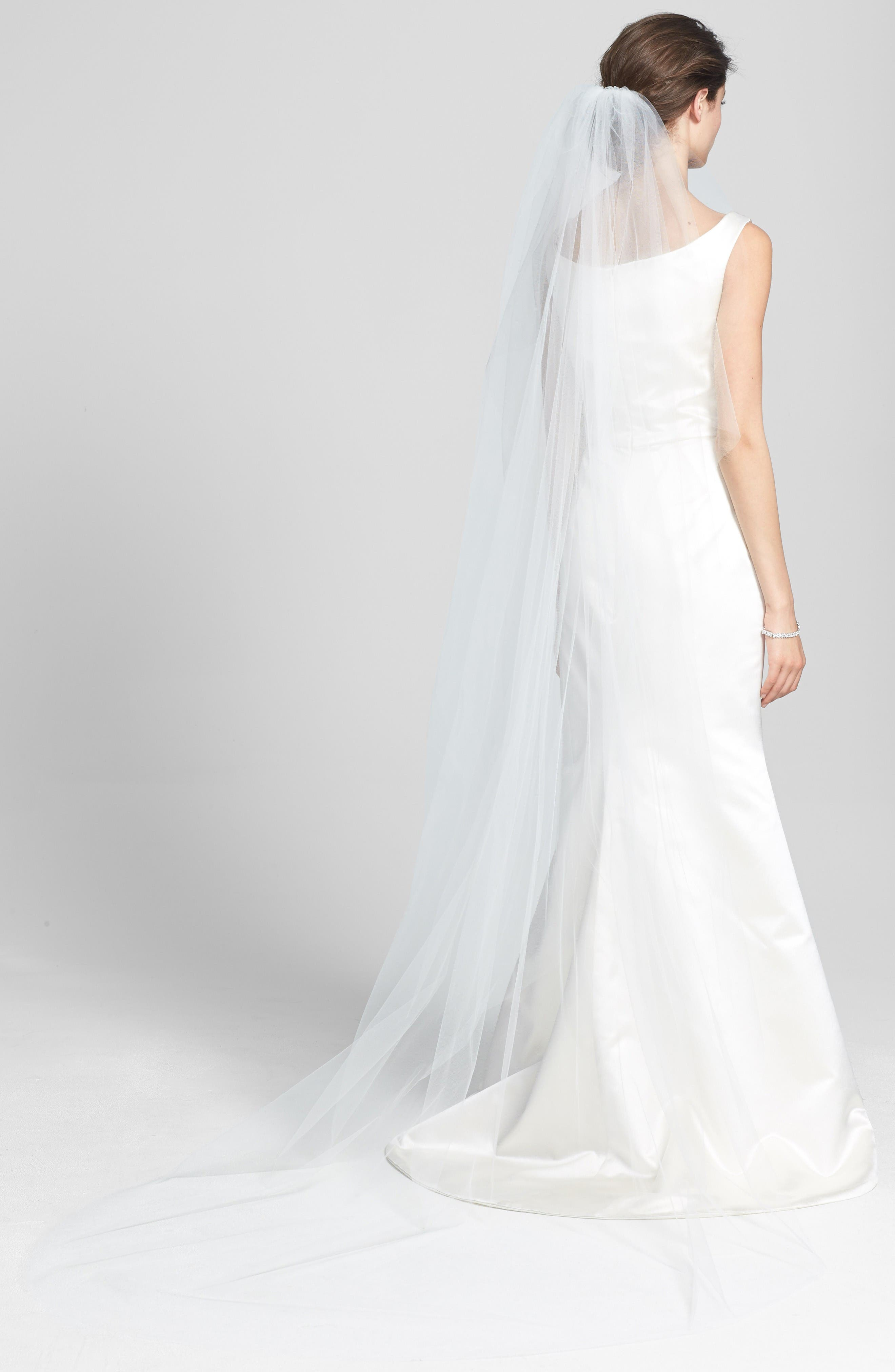 Can I wear a traditional wedding gown with a train on my second wedding dress?. Yes you can. But some etiquette experts say that second time brides usually shouldn't wear an .