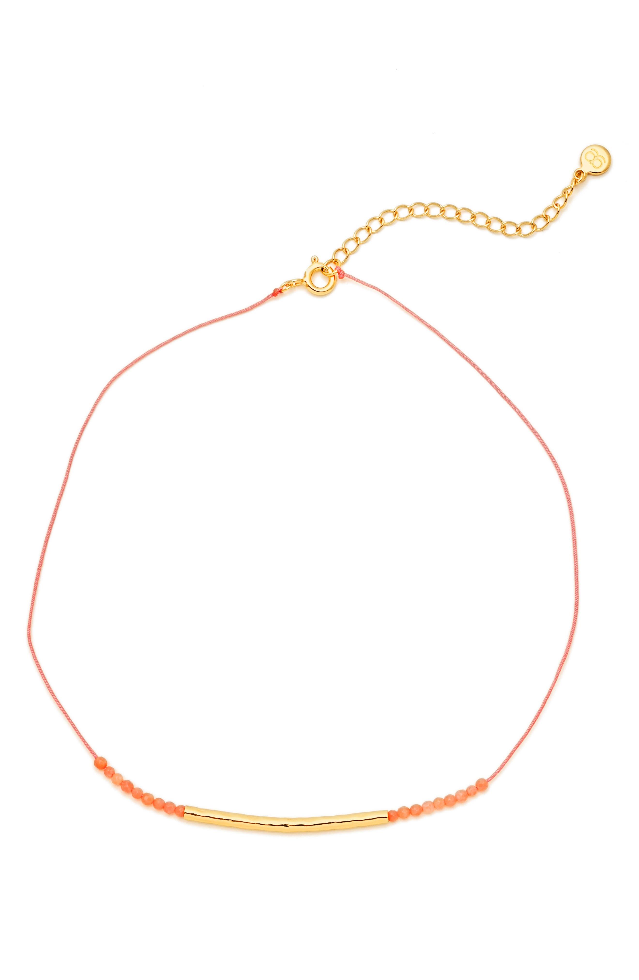 gorjana Power Stone Choker Necklace