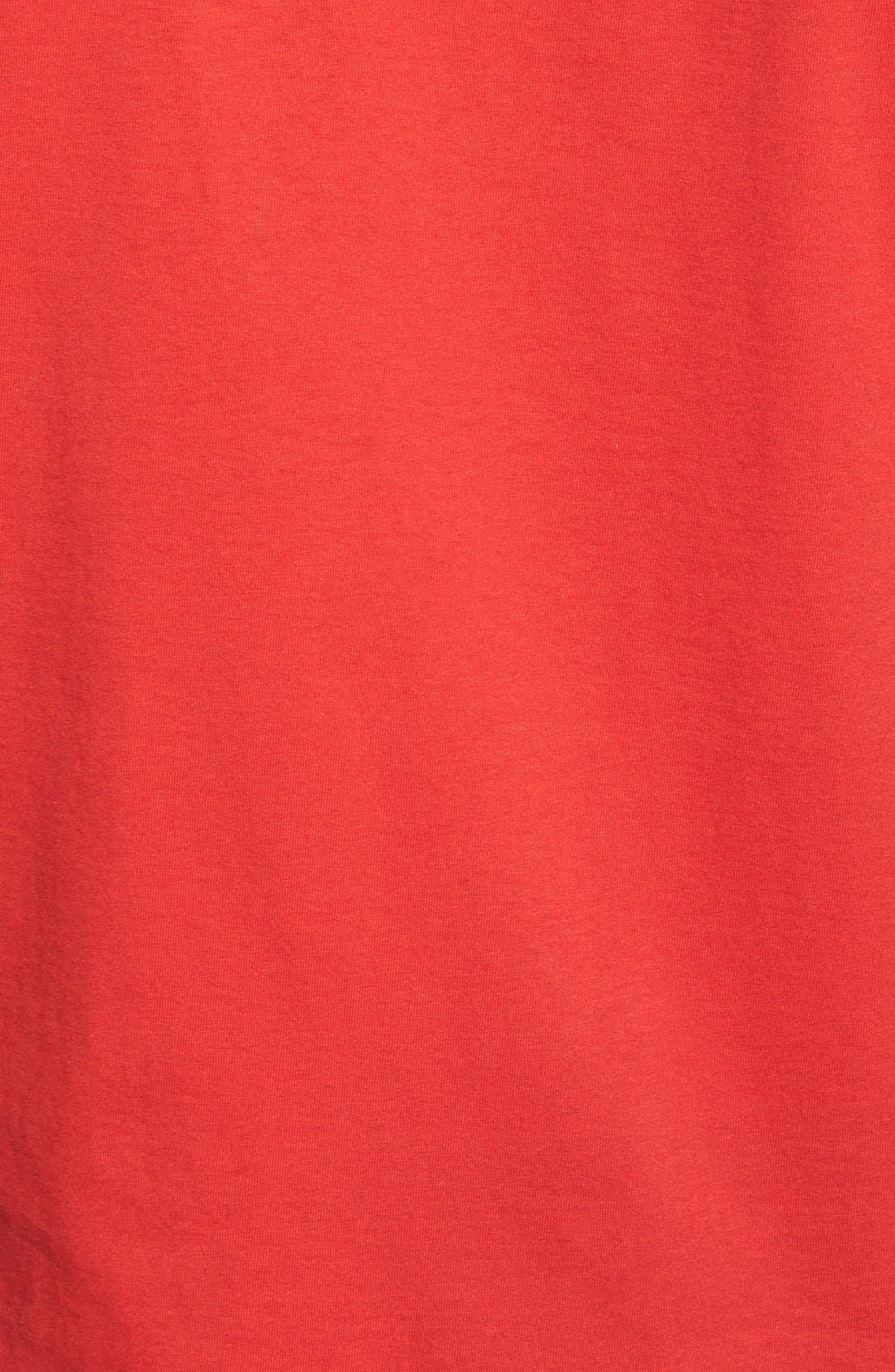 Alternate Image 3  - Topman 'Alright' Jersey T-Shirt (Brit Pop-In) (Nordstrom Exclusive)
