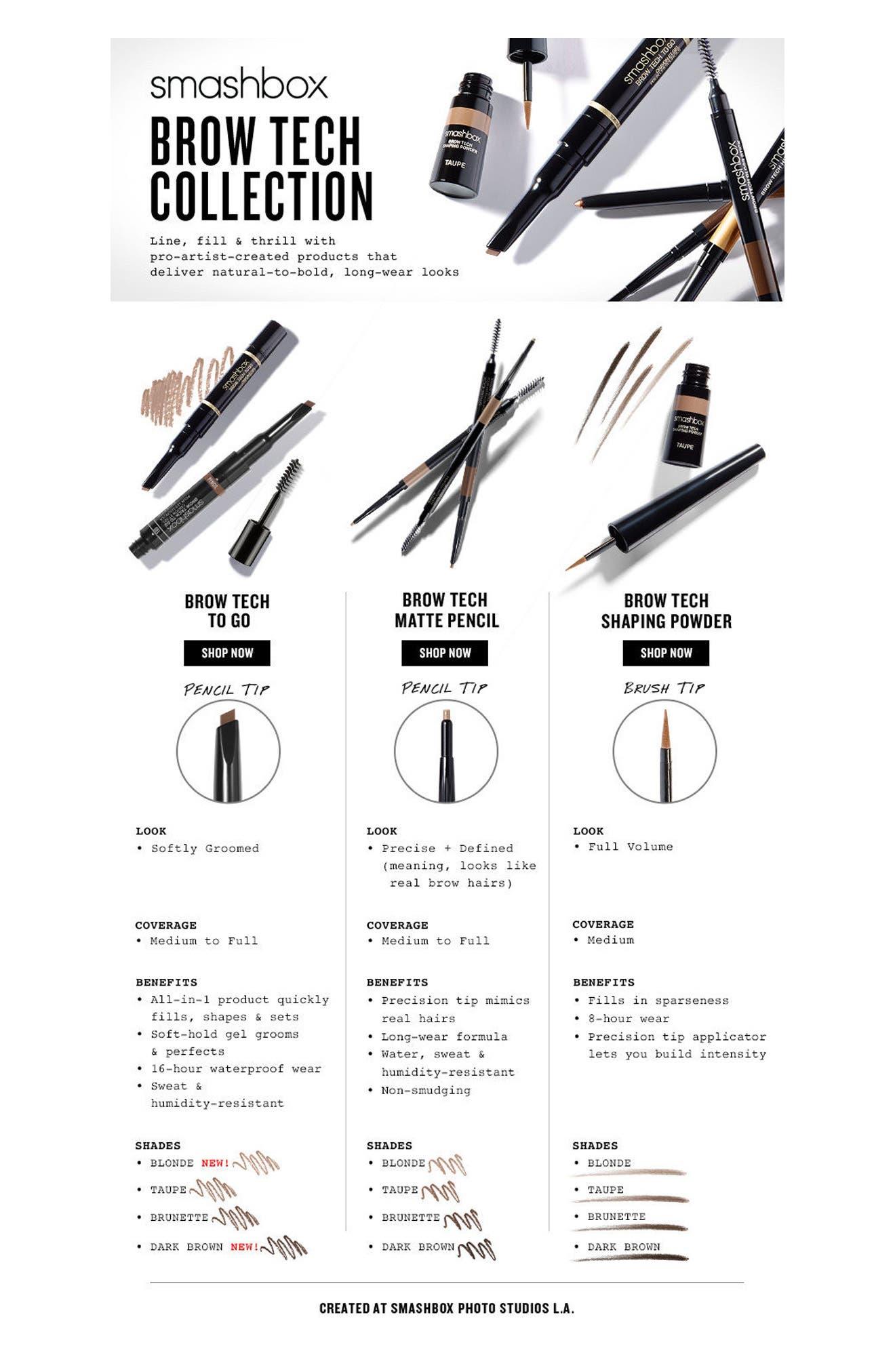 Alternate Image 2  - Smashbox Brow Tech to Go Pencil