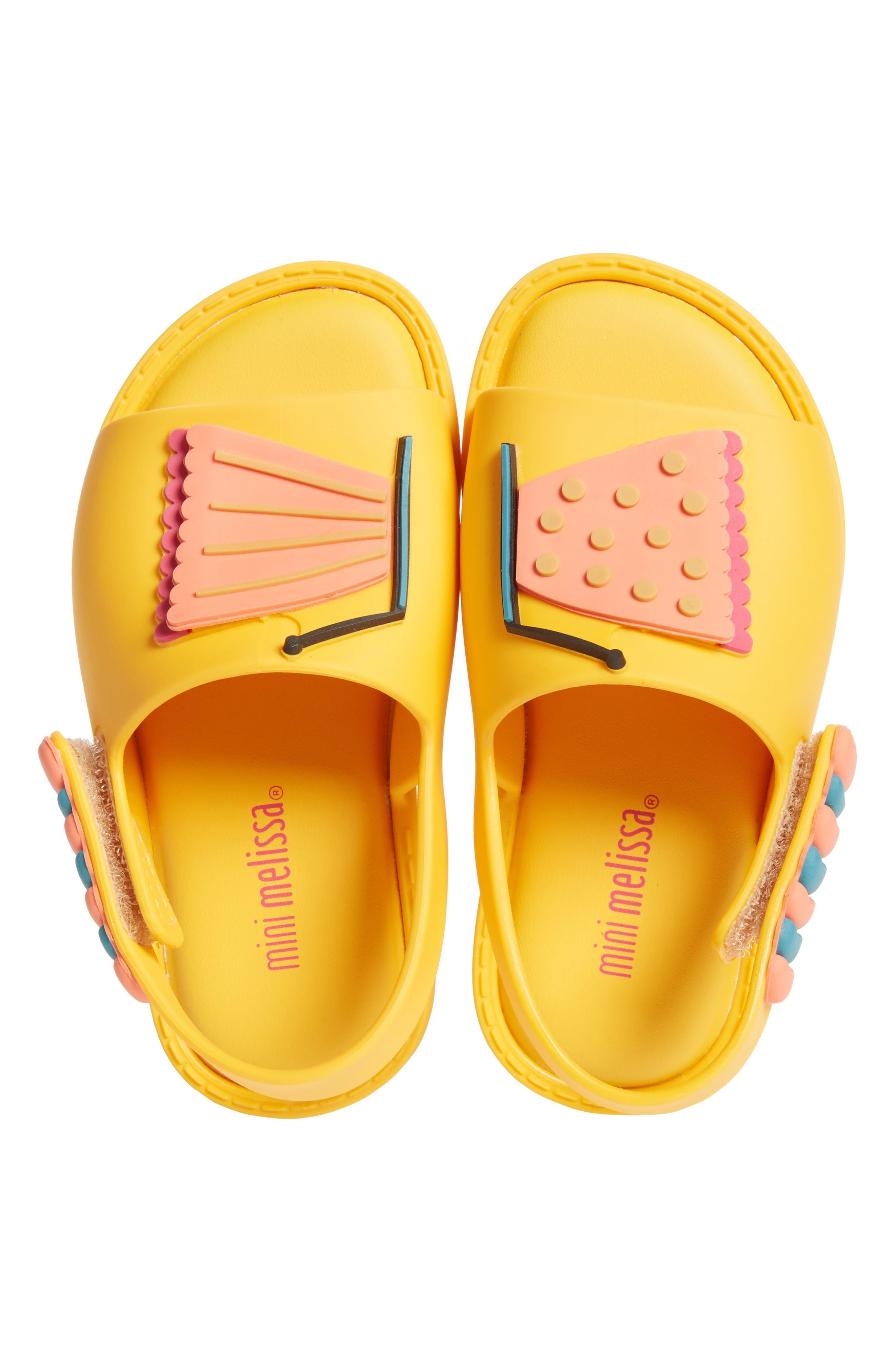 Mini Melissa Mia Fabula Sandal (Walker & Toddler)