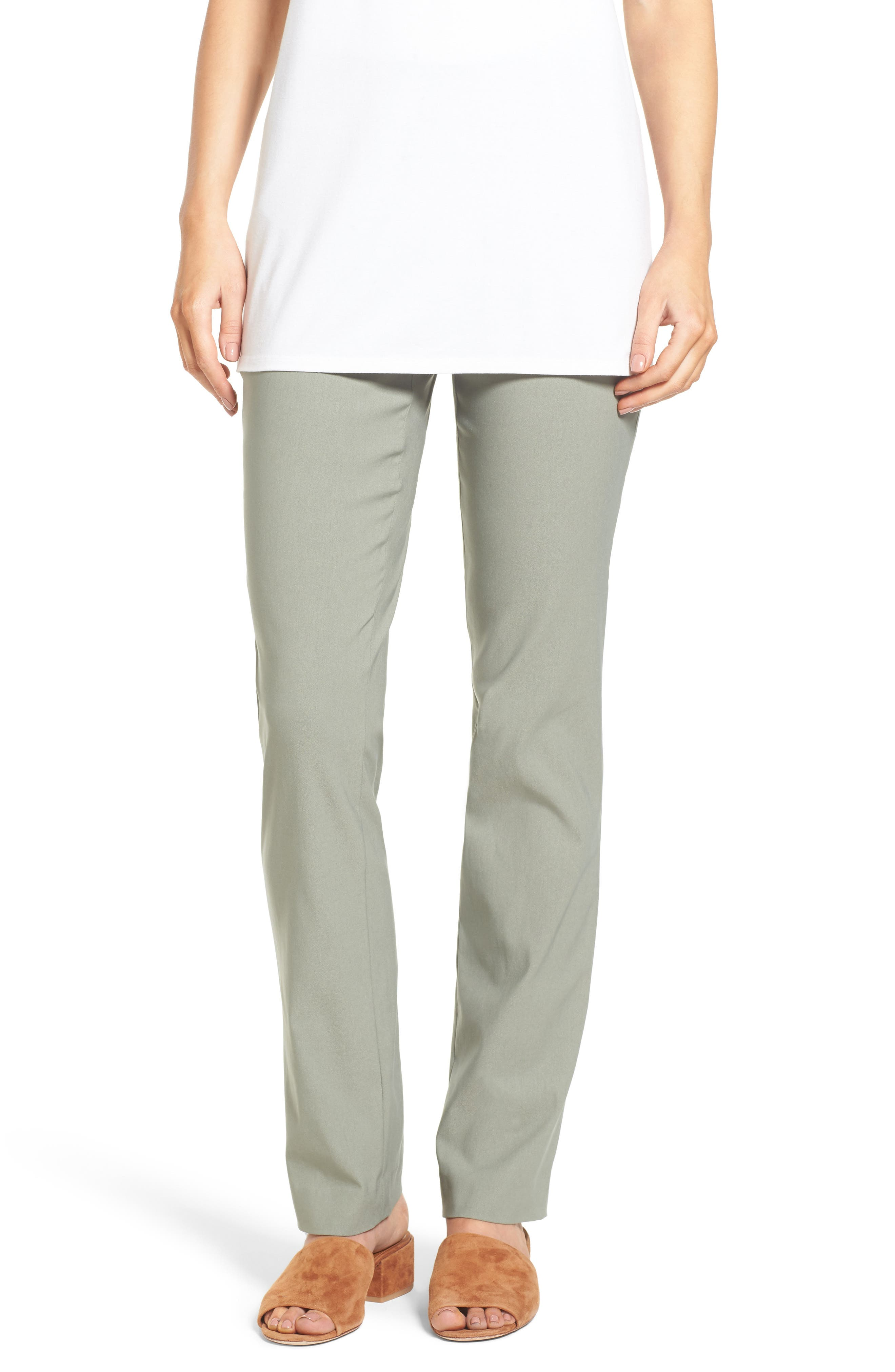 NIC+ZOE Wonder Stretch Straight Leg Pants (Regular & Petite)