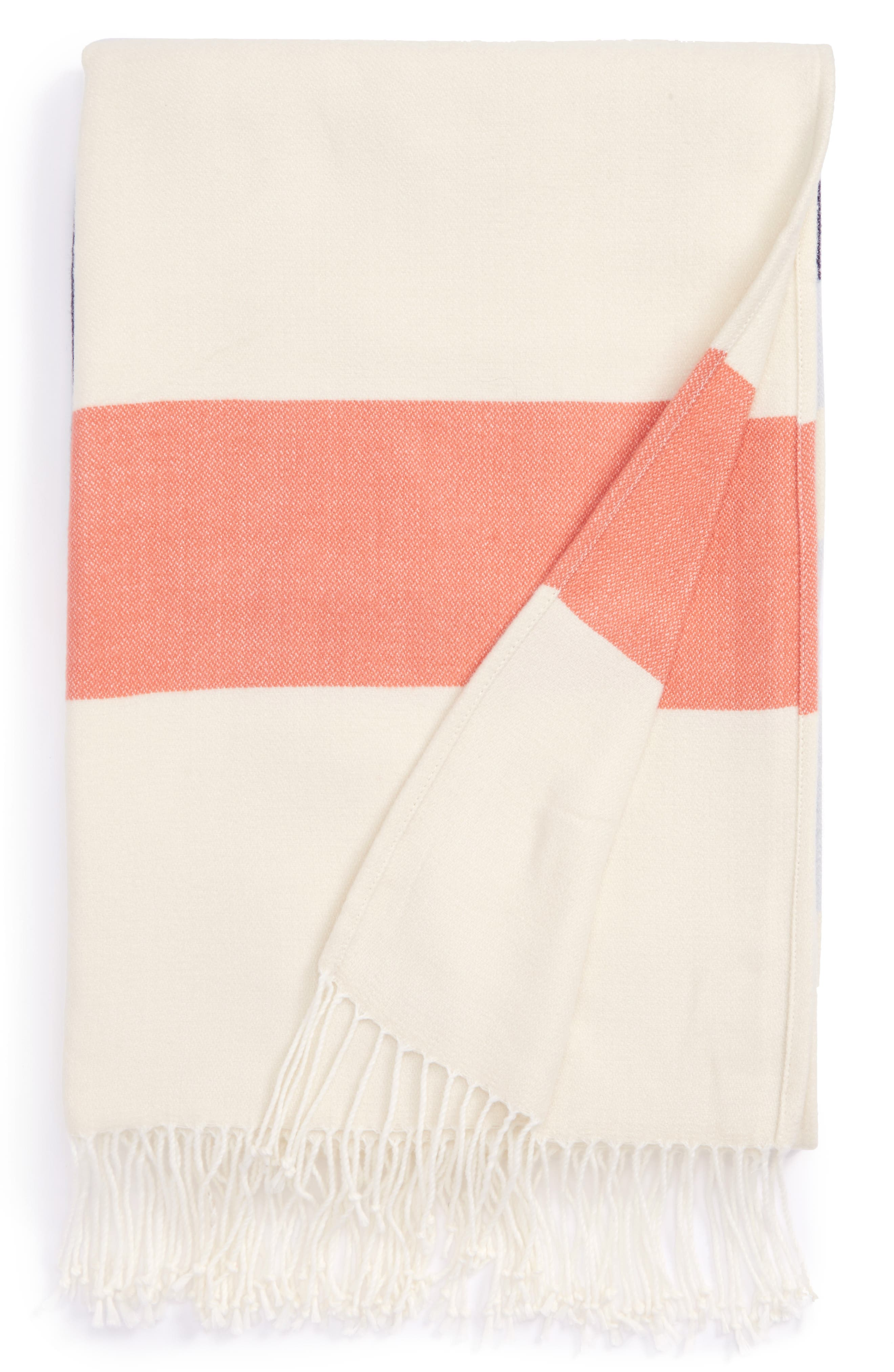 Nordstrom at Home Bold Stripe Throw Blanket