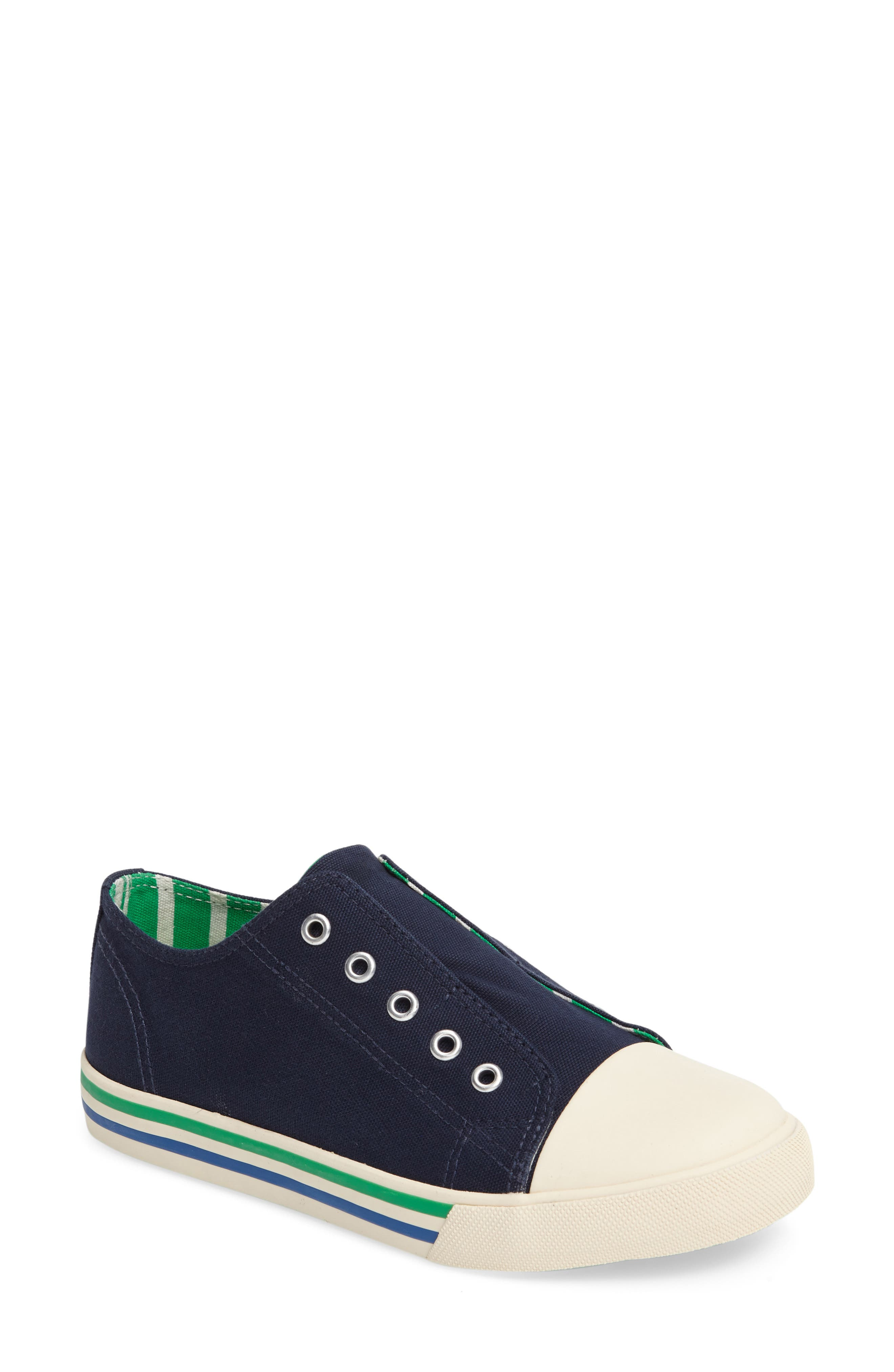Mini Boden Laceless Sneaker (Toddler, Little Kid & Big Kid)
