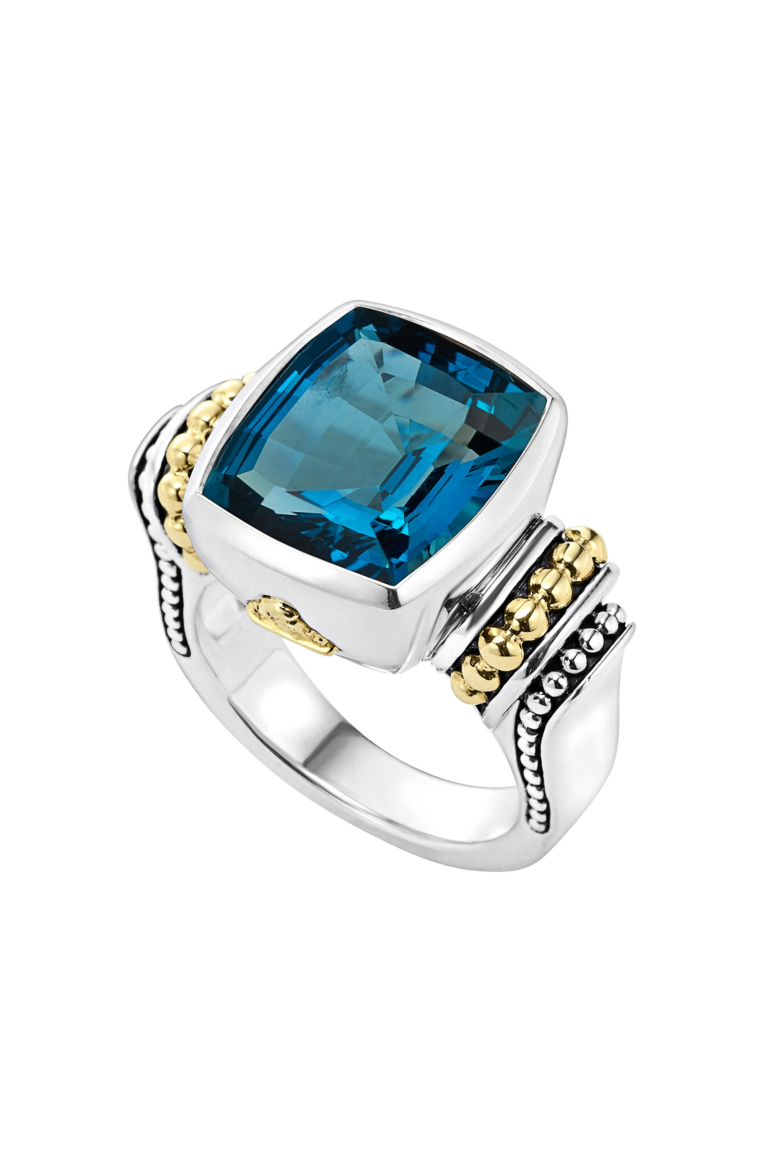 LAGOS 'Caviar Color' Medium Semiprecious Stone Ring
