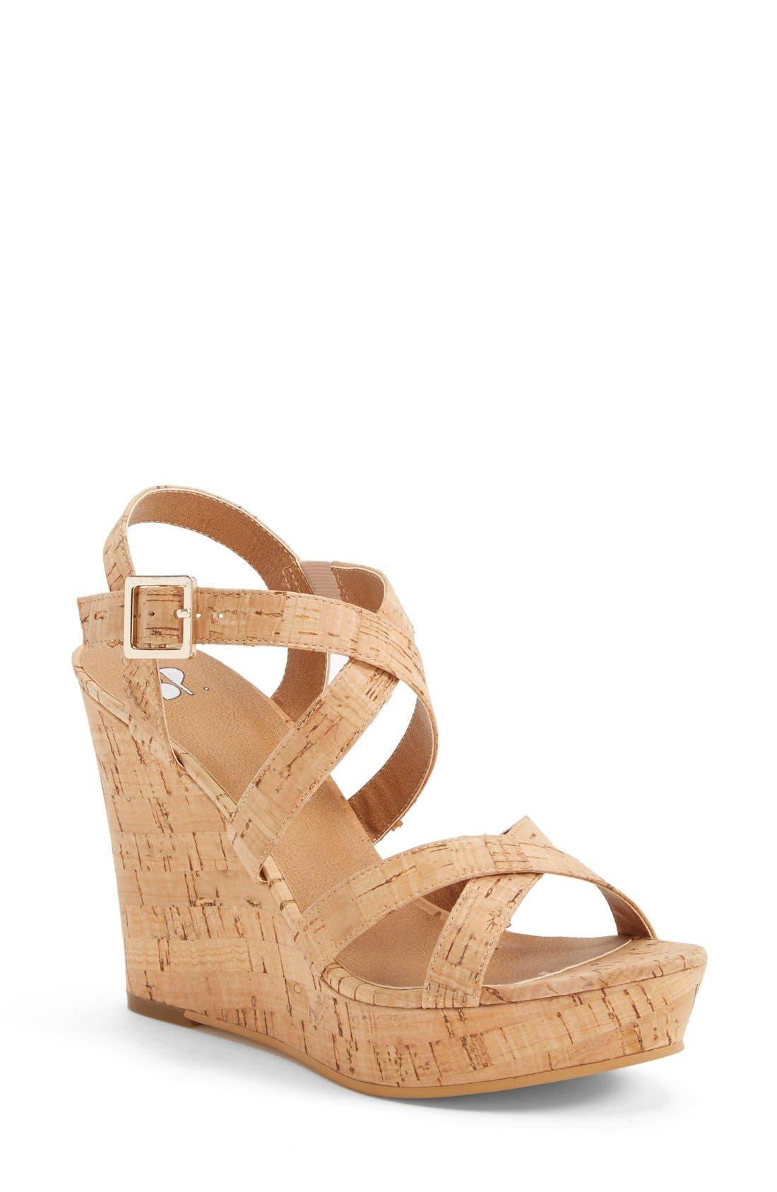 Alternate Image 1 Selected - BP. 'Summers' Wedge Sandal (Women)