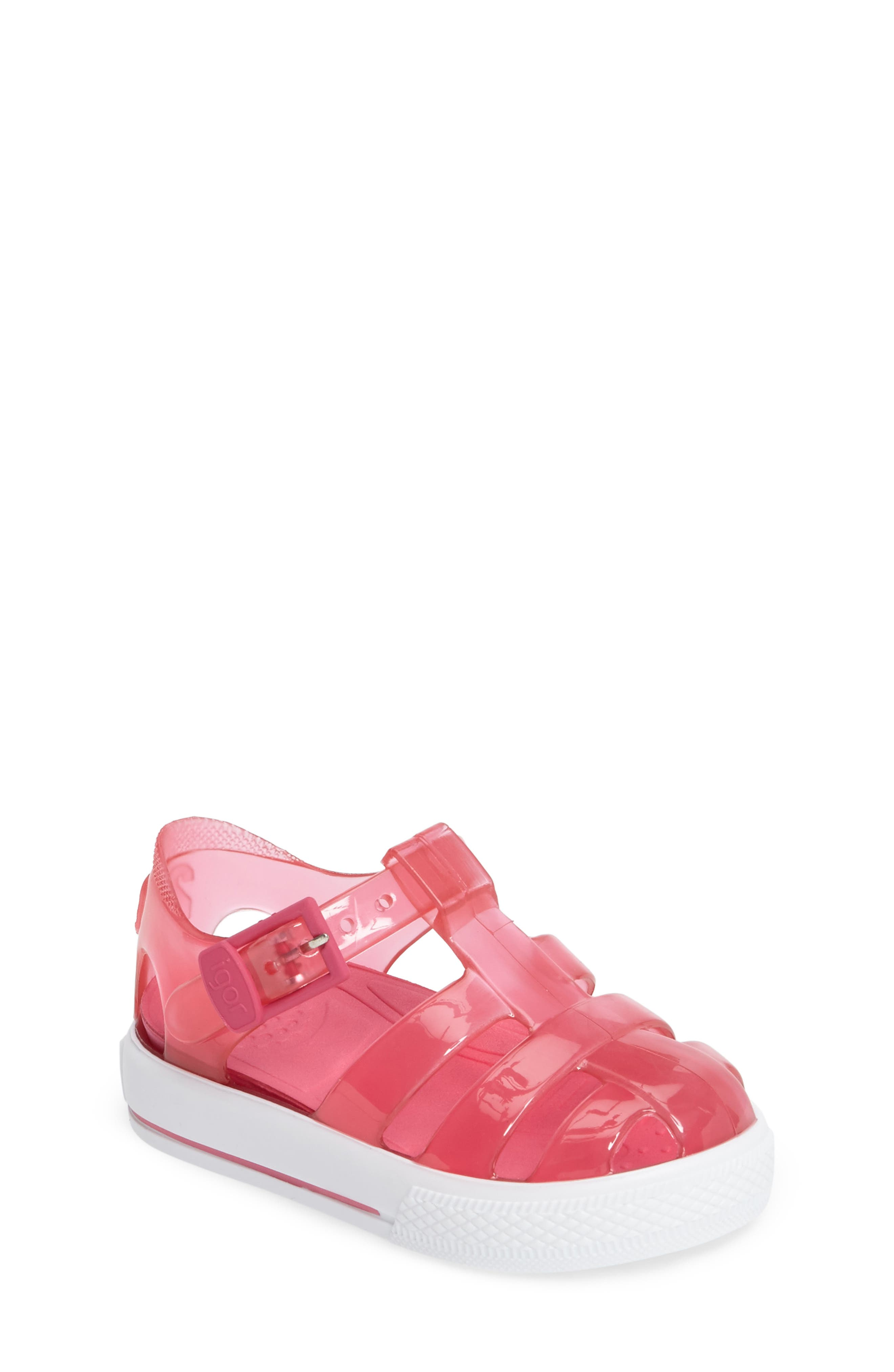 Igor Tenis Fisherman Jelly Sandal (Walker & Toddler)