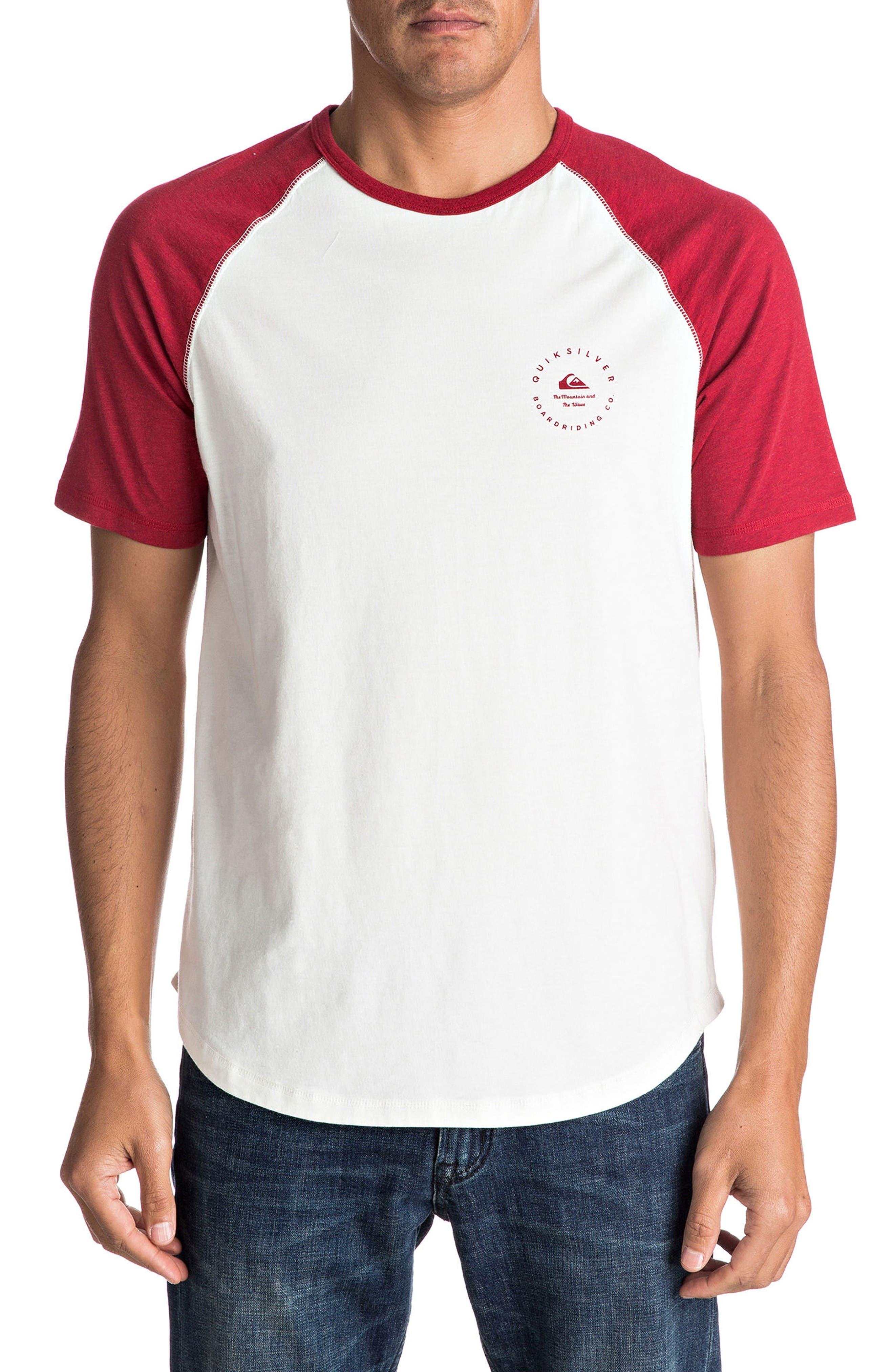Quiksilver Alo Nah Raglan T-Shirt