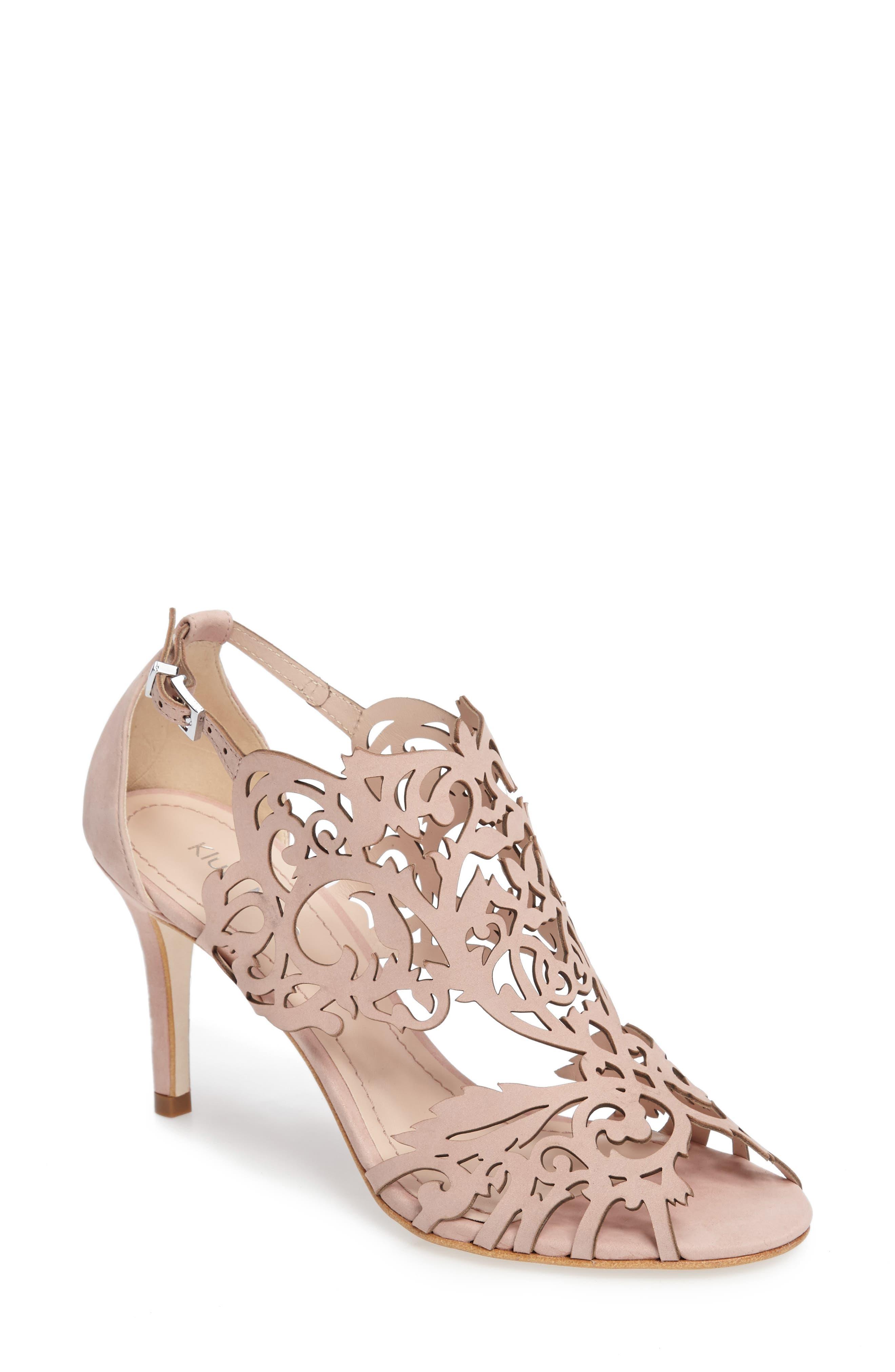 KLUB NICO 'Marcela' Laser Cutout Sandal