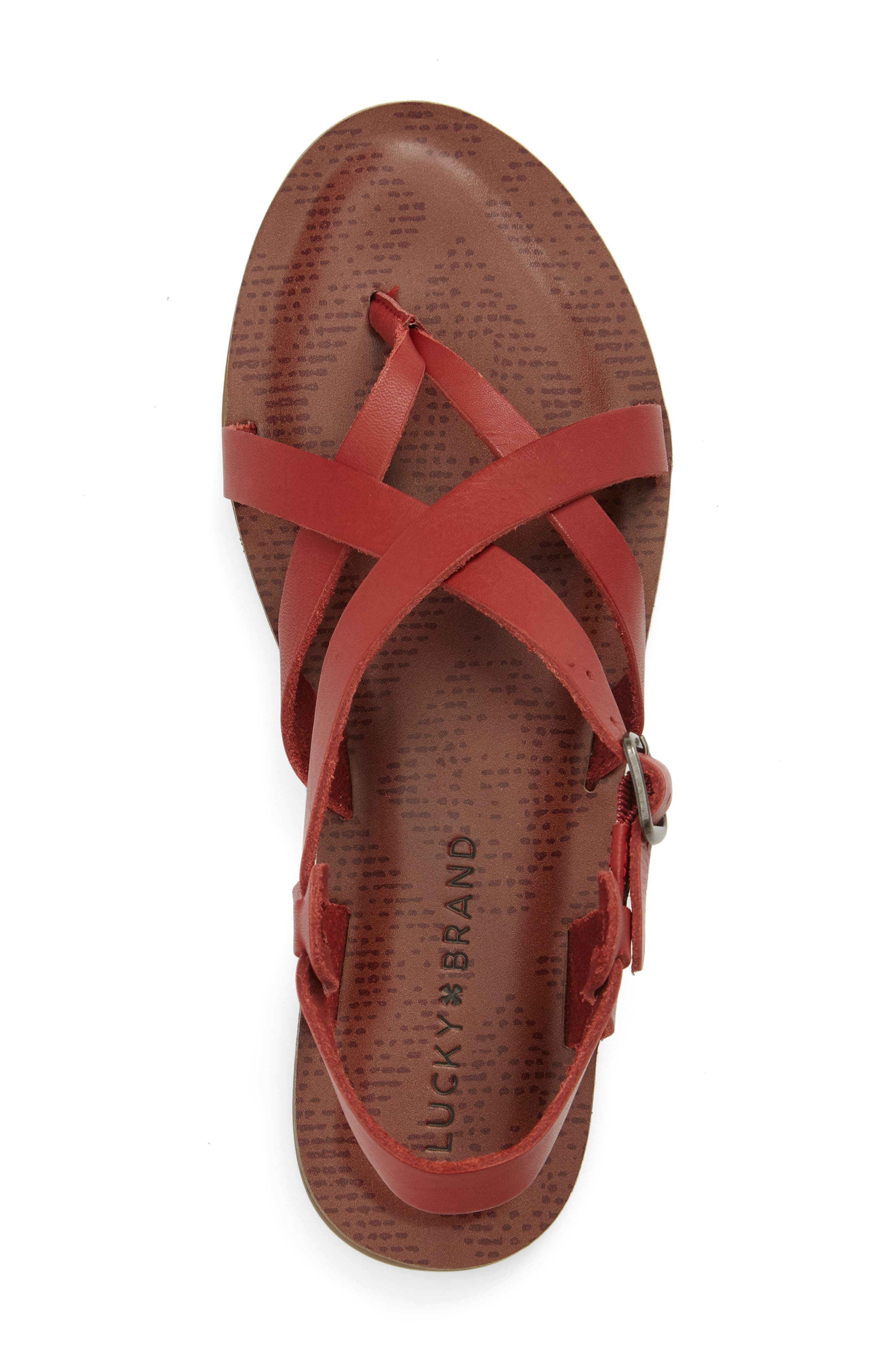 Alternate Image 5  - Lucky Brand Adinis Flat Sandal (Women)