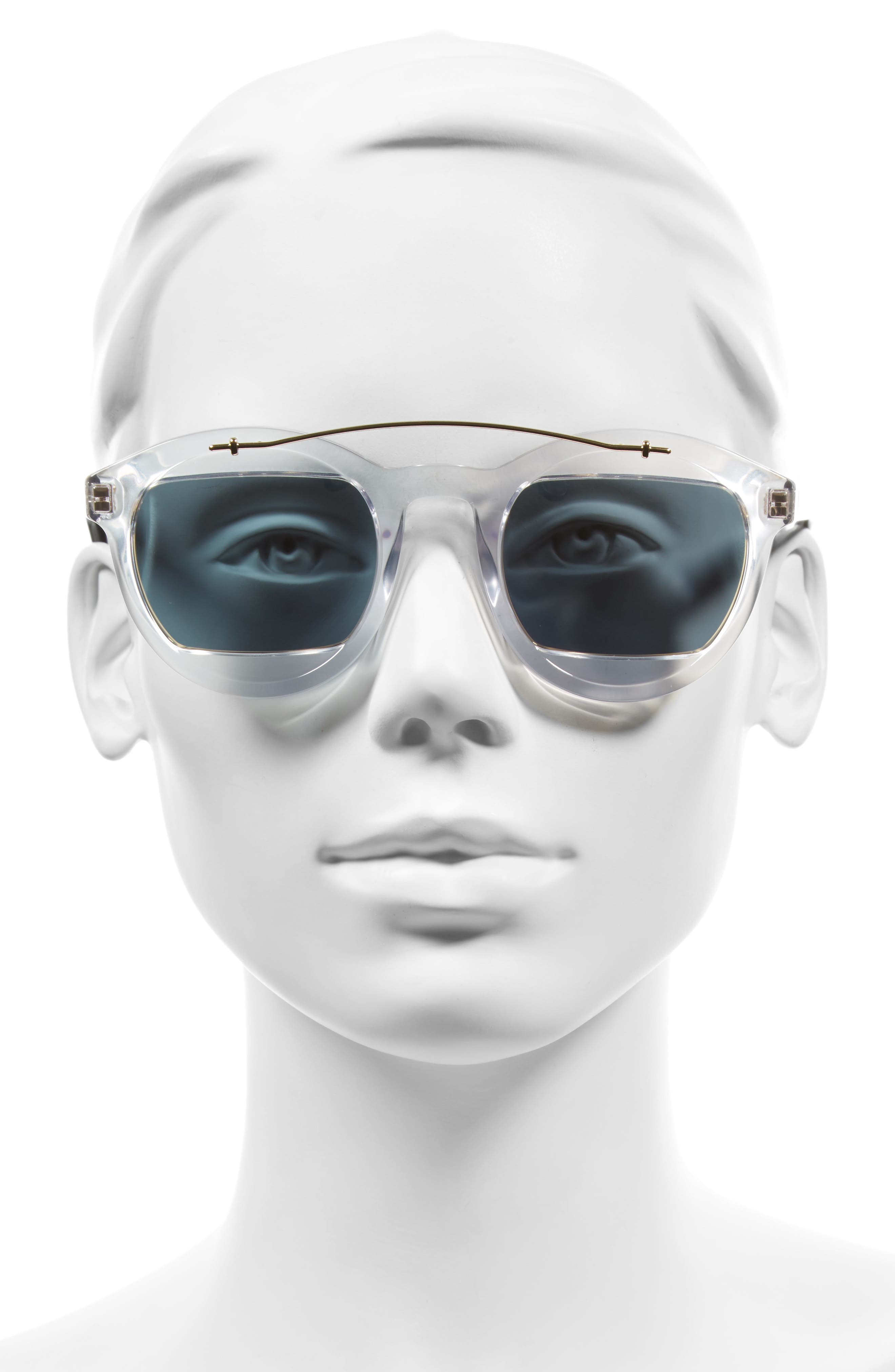 Alternate Image 2  - Dior Mania 50mm Sunglasses