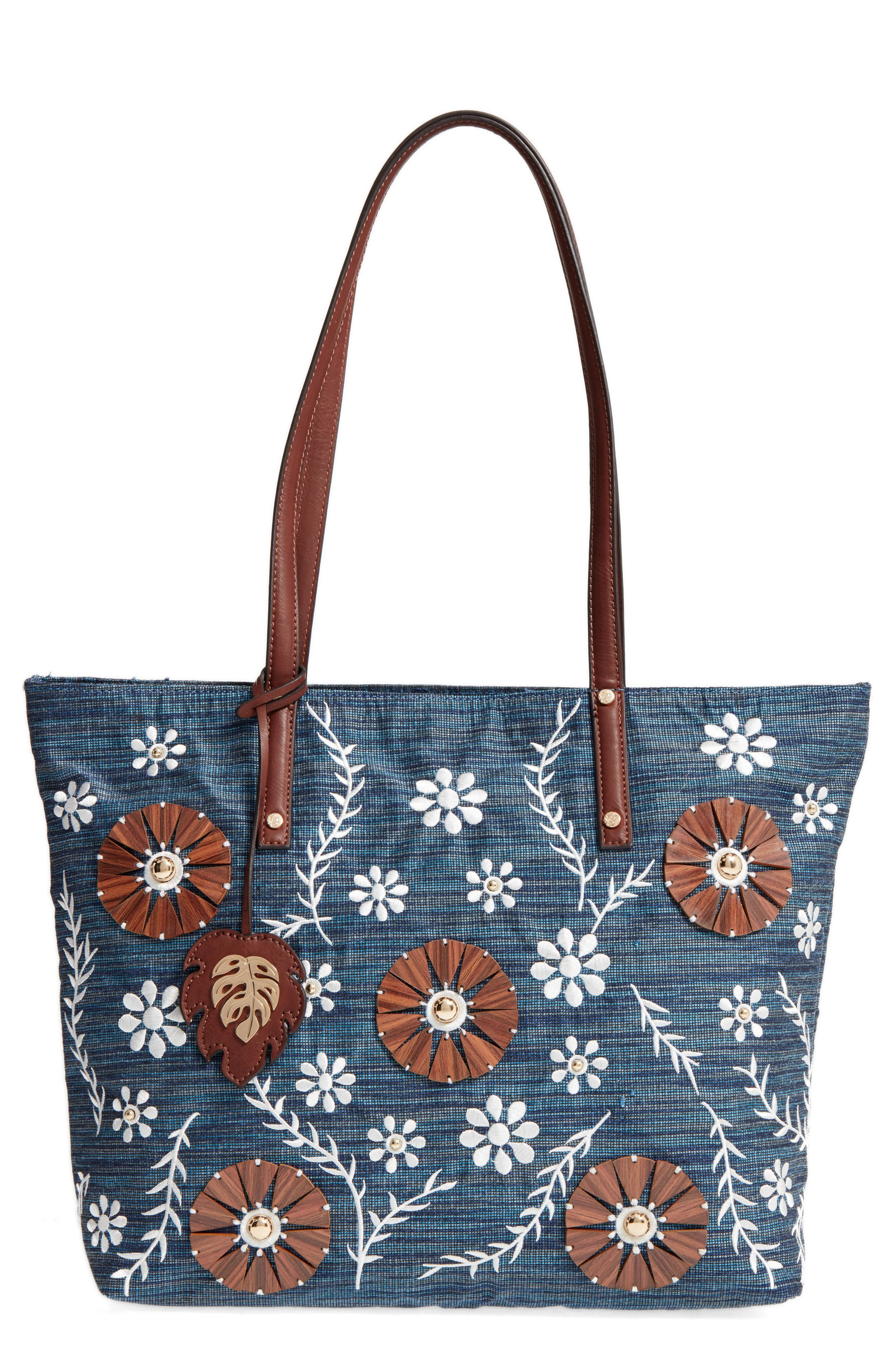 Tommy Bahama Naples Embroidered Tote