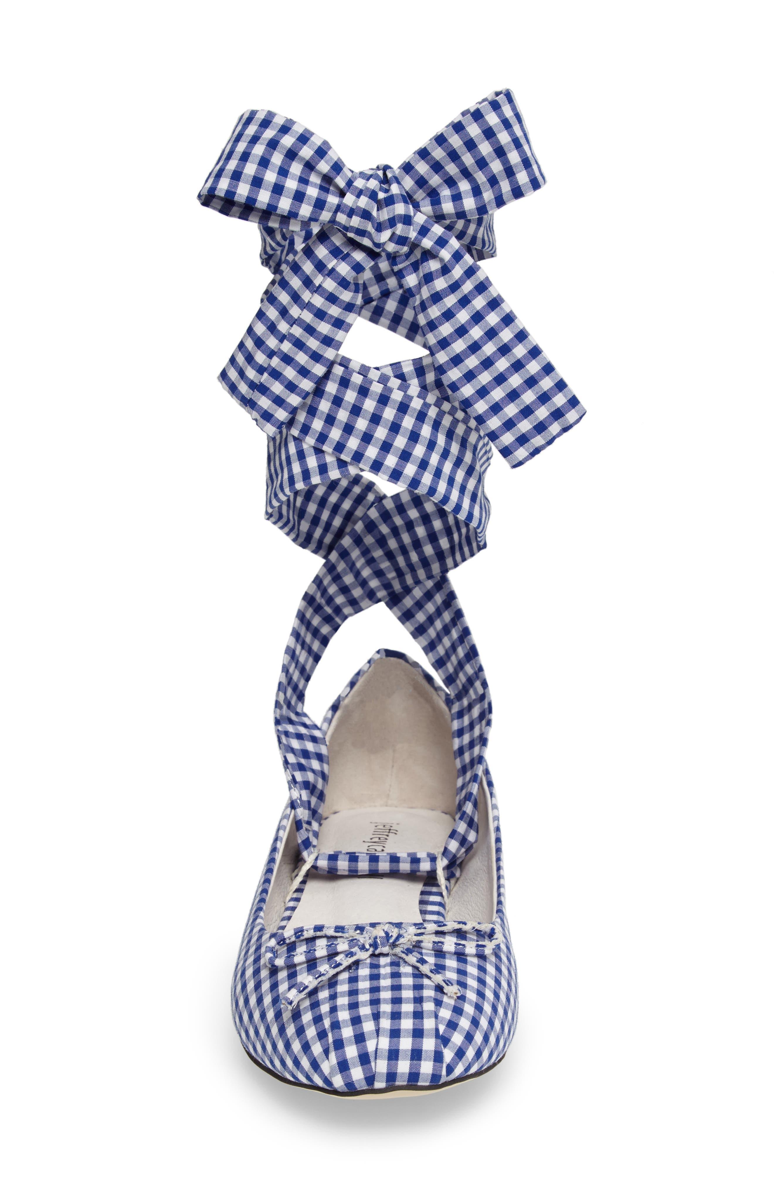 Alternate Image 4  - Jeffrey Campbell Sarine Ankle Wrap Flat (Women)