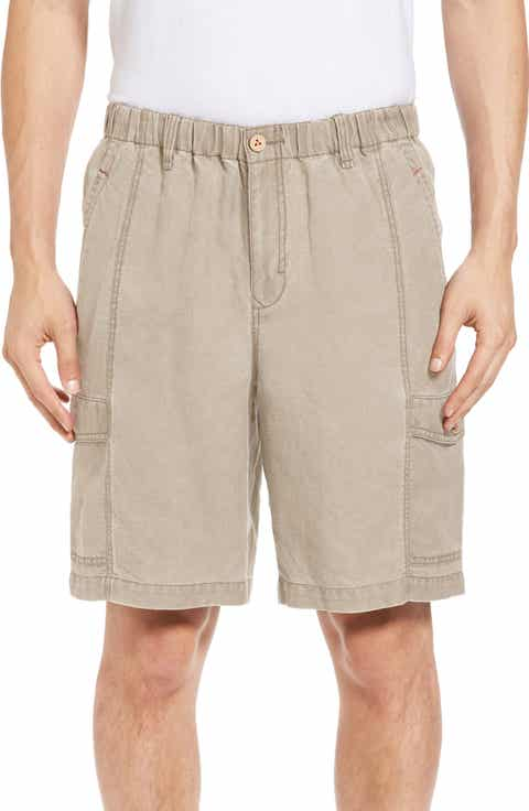 Tommy Bahama Linen the Dream Cargo Lounger Shorts (Big   Tall)