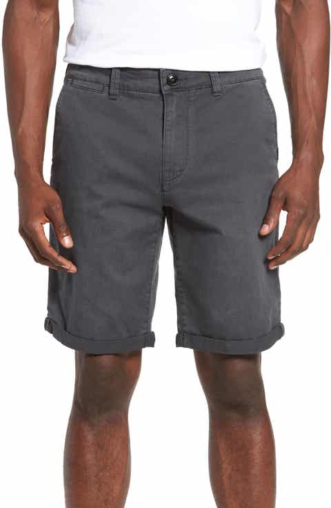 Quiksilver Krandy Chino Shorts (Regular   Big)