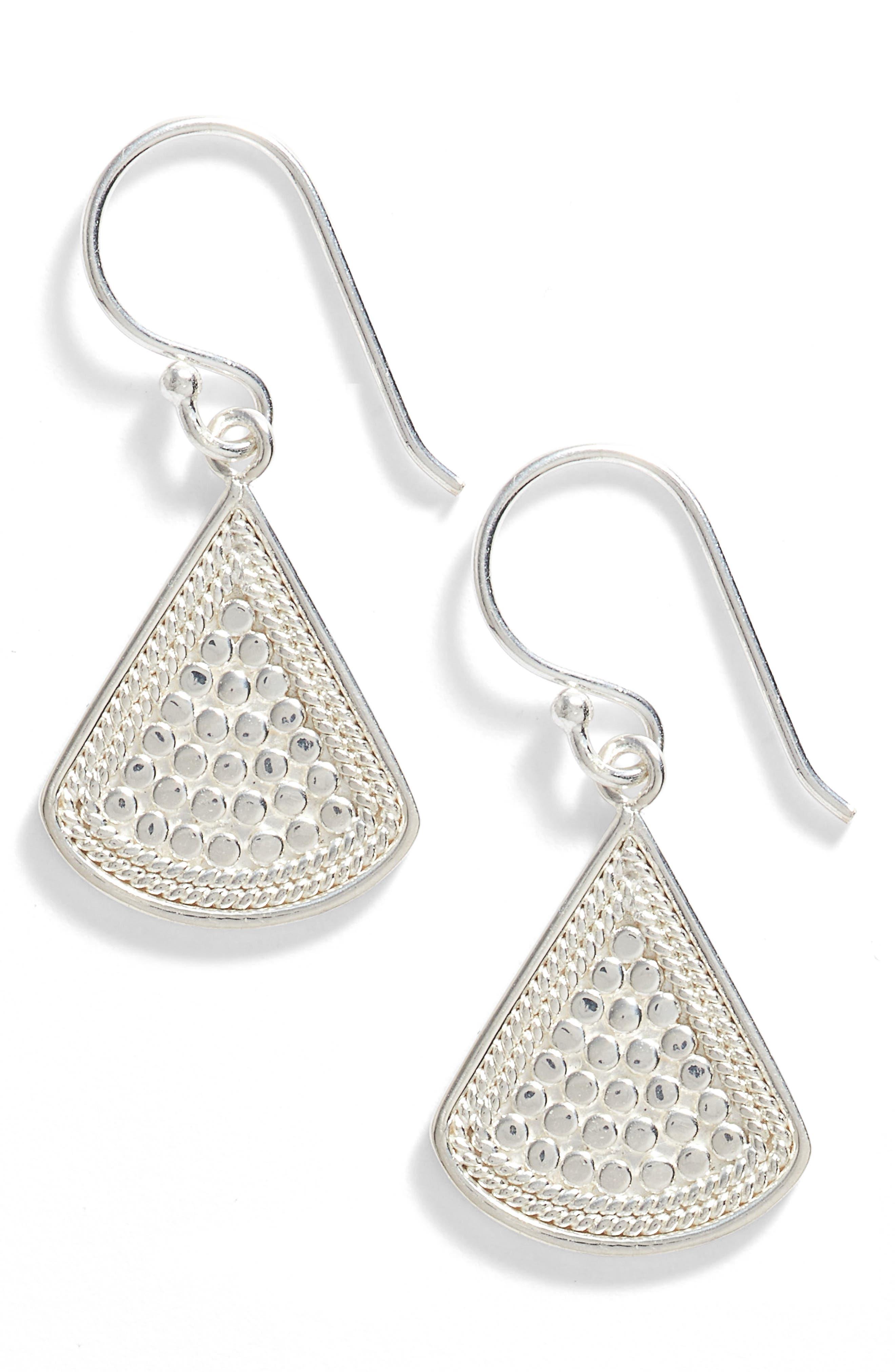 Anna Beck Fan Drop Earrings