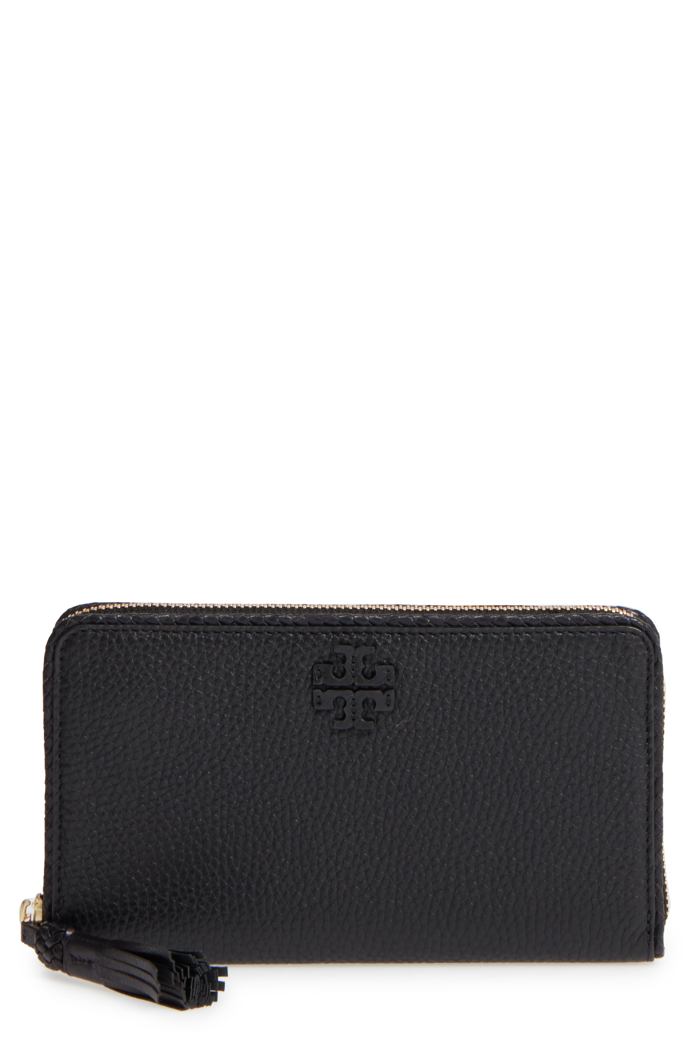 Tory Burch Continental Leather Wallet