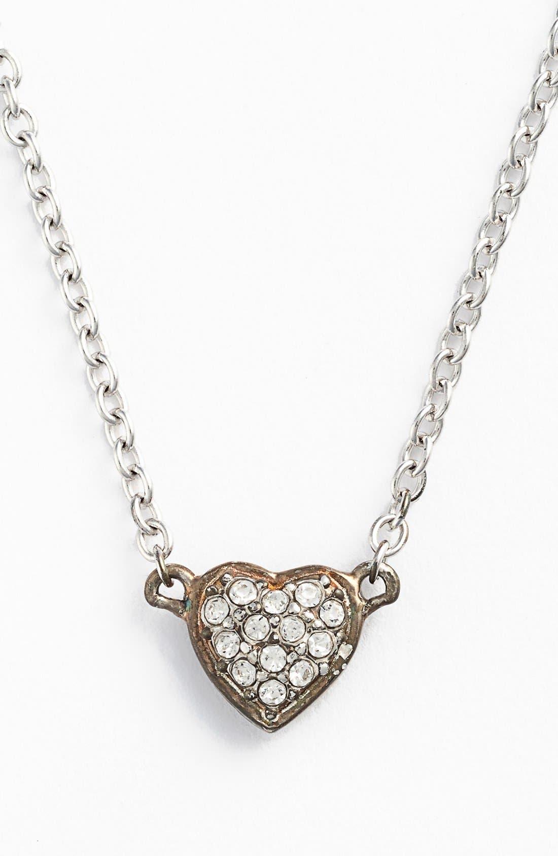 Alternate Image 5  - Judith Jack 'Mini Motives' Reversible Heart Pendant Necklace