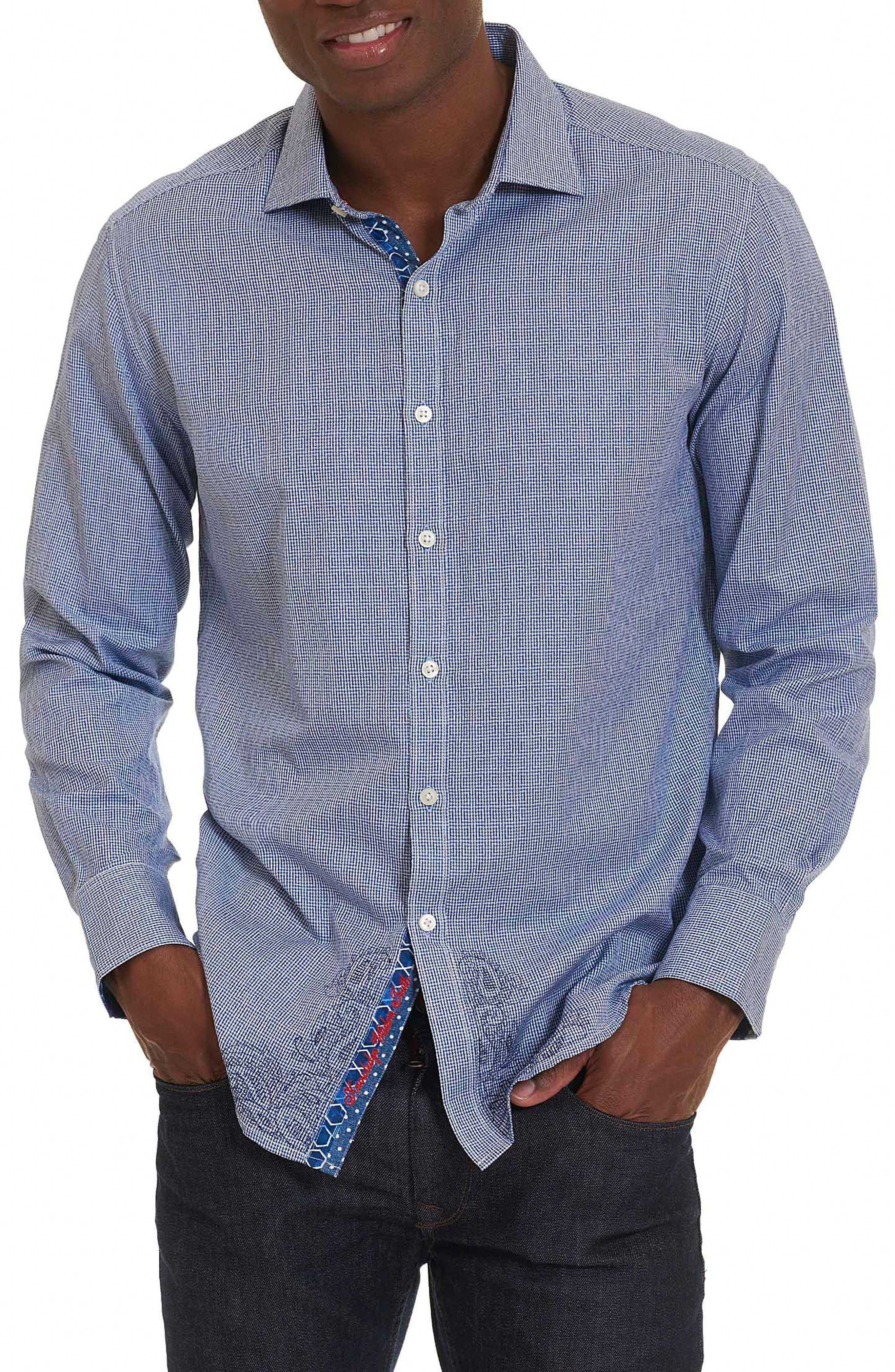 Robert Graham Jain Classic Fit Print Sport Shirt
